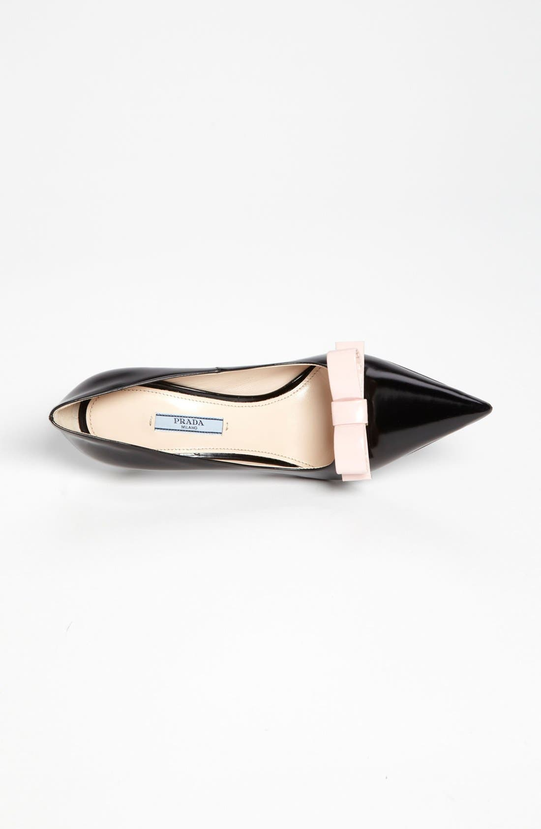 Alternate Image 3  - Prada Bow Pointy Toe Pump