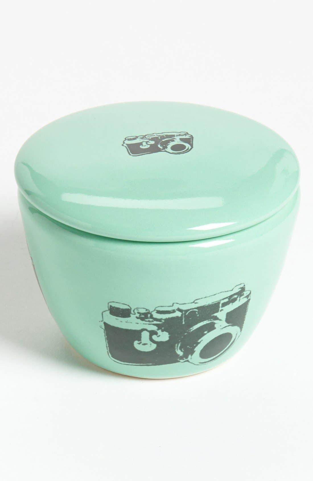 Alternate Image 1 Selected - CircaCeramics 'Camera' Lidded Bowl