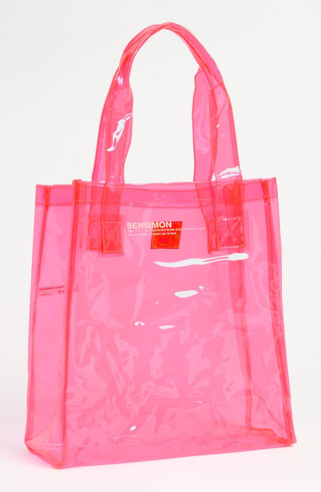 Alternate Image 1 Selected - BENSIMON Transparent Tote