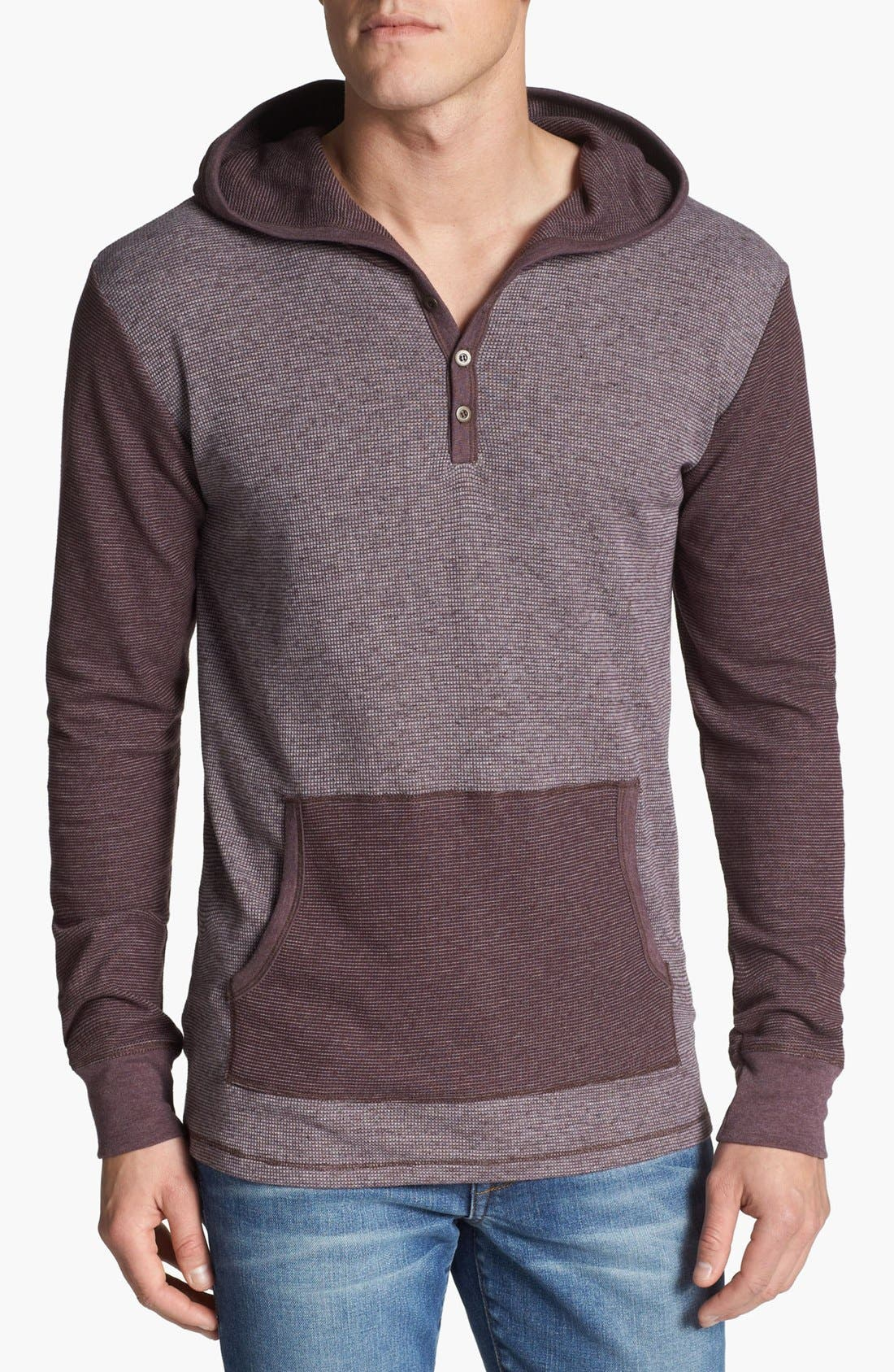 Main Image - Threads for Thought Thermal Hooded Henley