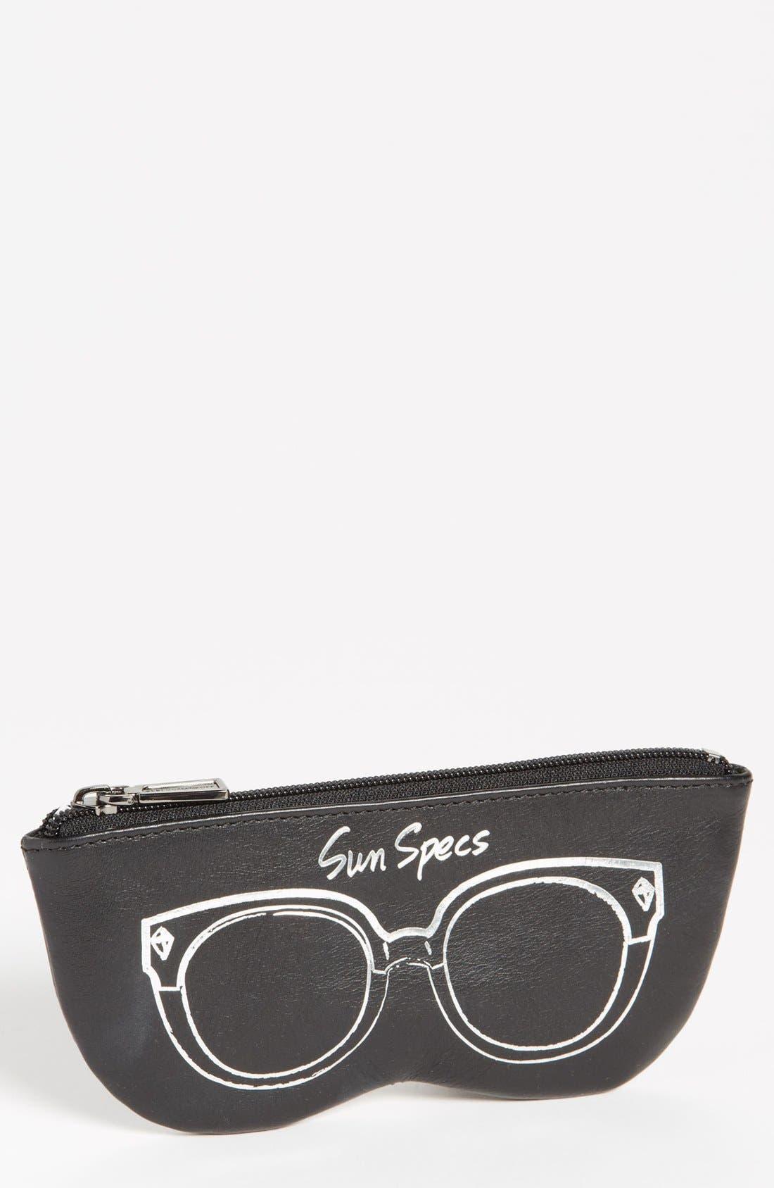 Main Image - Rebecca Minkoff 'Sun Specs' Leather Sunglasses Case