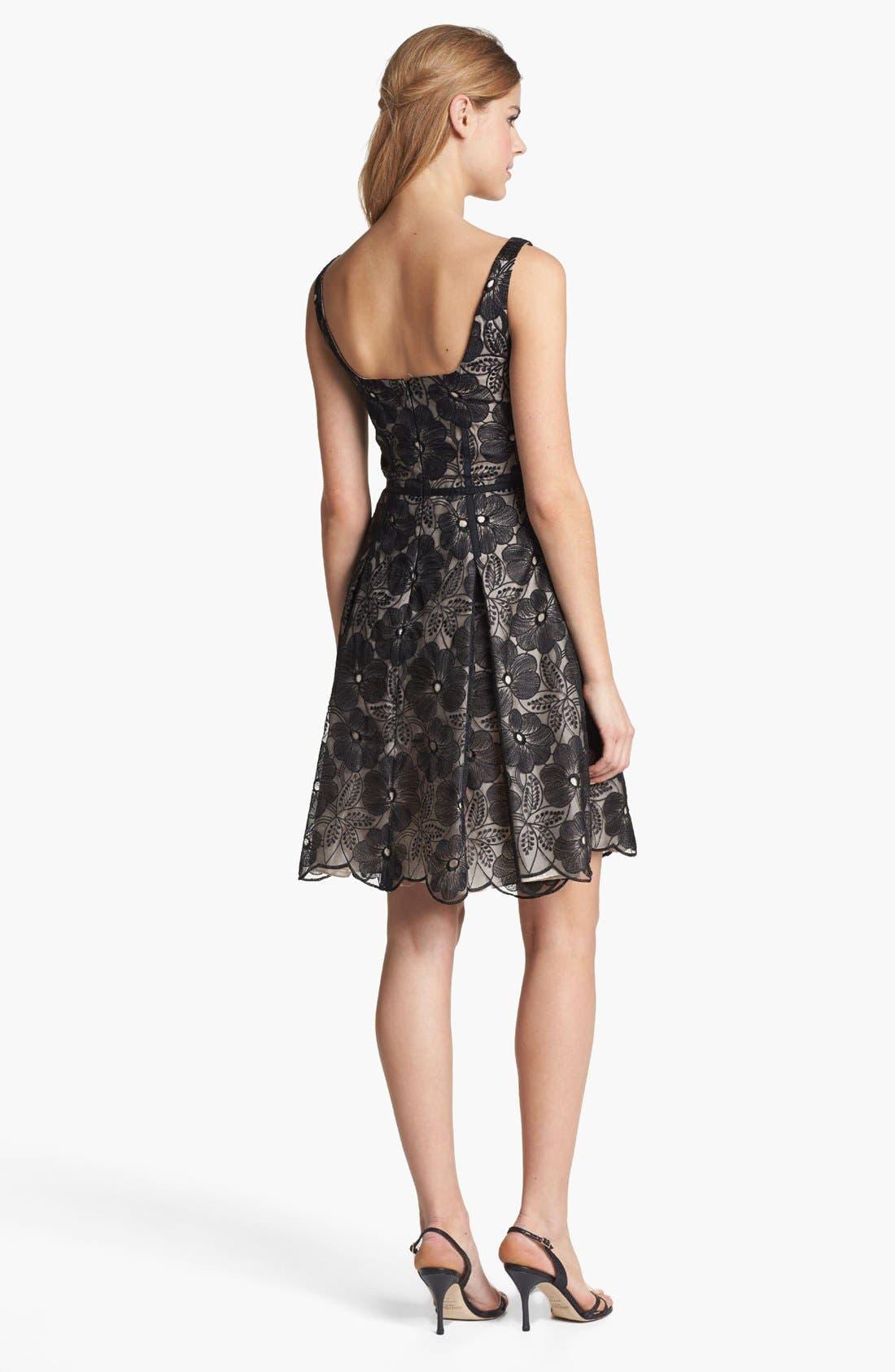 Alternate Image 2  - Jill Jill Stuart Embroidered Organza Fit & Flare Dress
