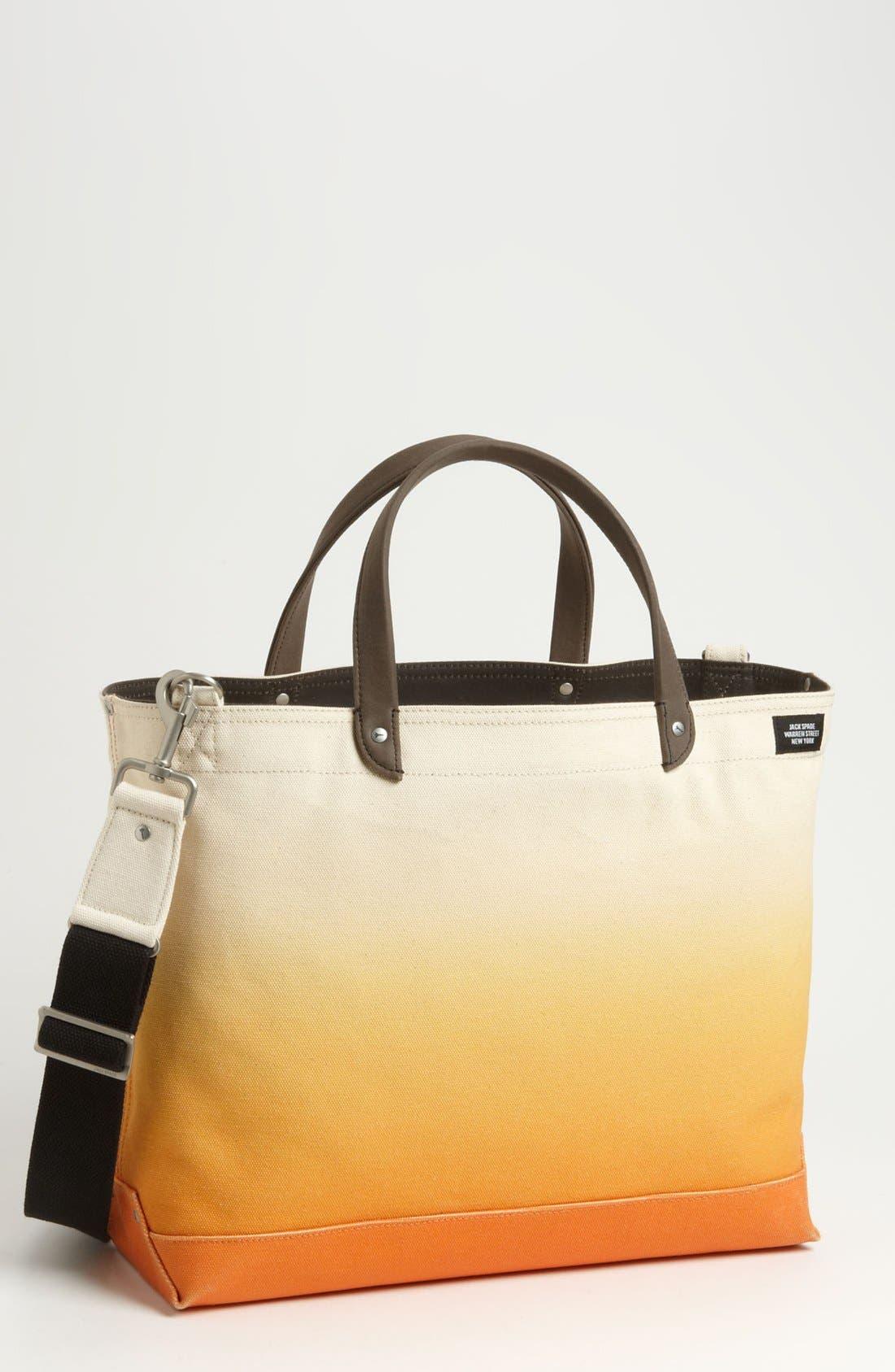 Alternate Image 1 Selected - Jack Spade Zip Tote Bag