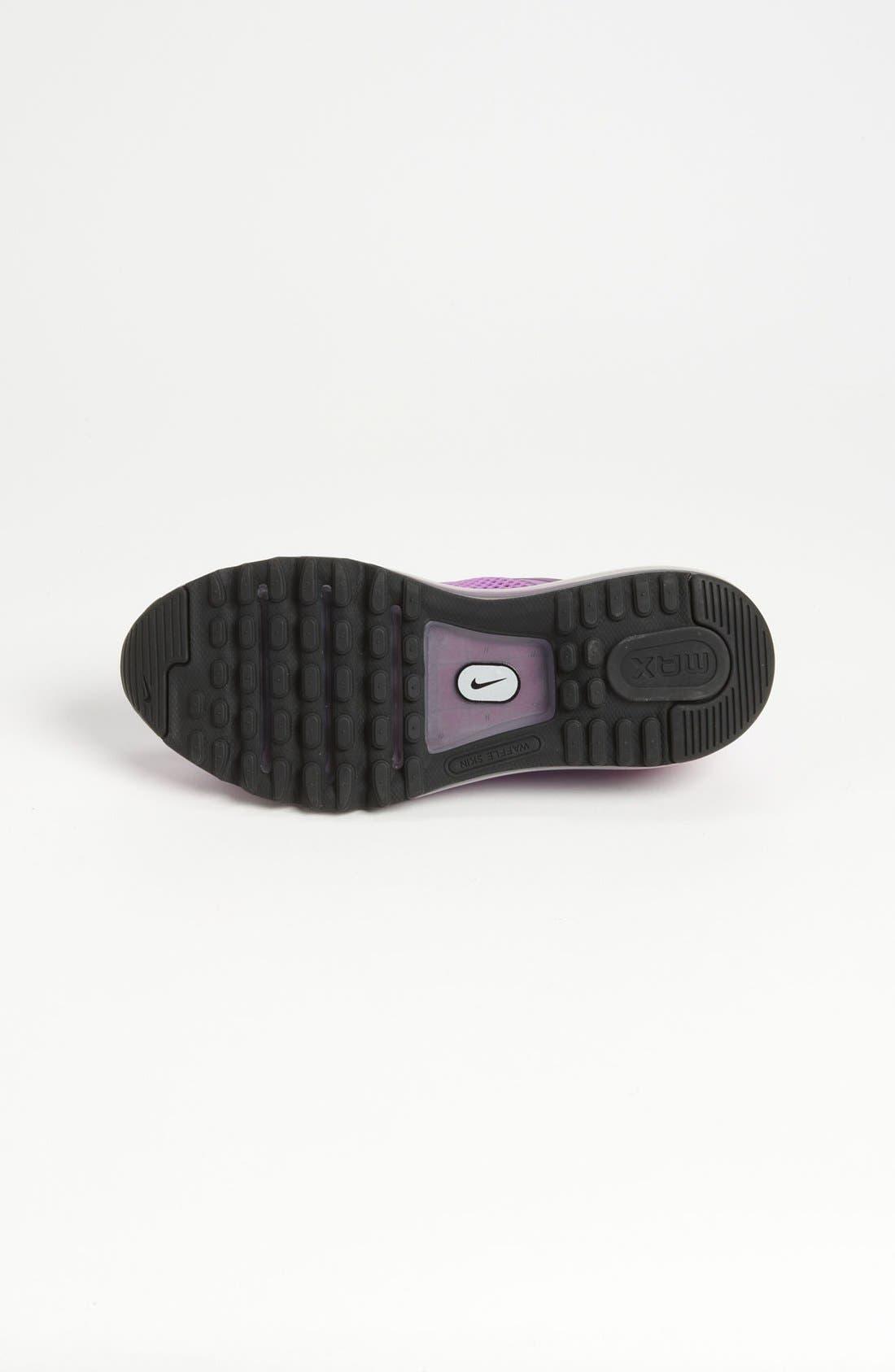 Alternate Image 4  - Nike 'Air Max 2013' Running Shoe (Big Kid)