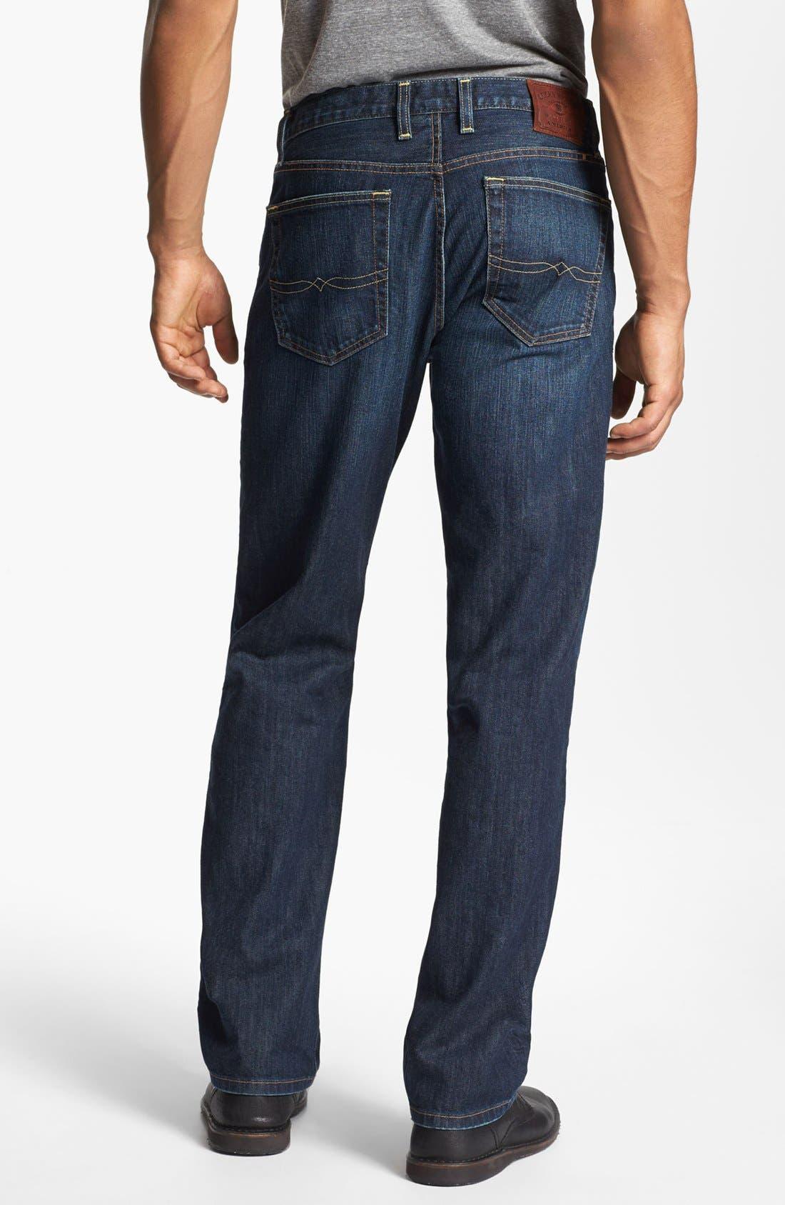 Alternate Image 2  - Lucky Brand '329 Classic' Straight Leg Jeans (Murrell)
