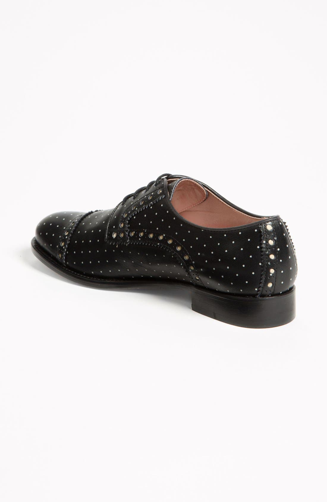Alternate Image 2  - RED Valentino 'Polka Dot' Oxford