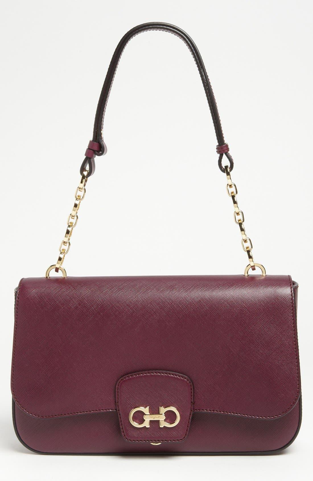 Alternate Image 1 Selected - Salvatore Ferragamo 'Bree' Leather Shoulder Bag