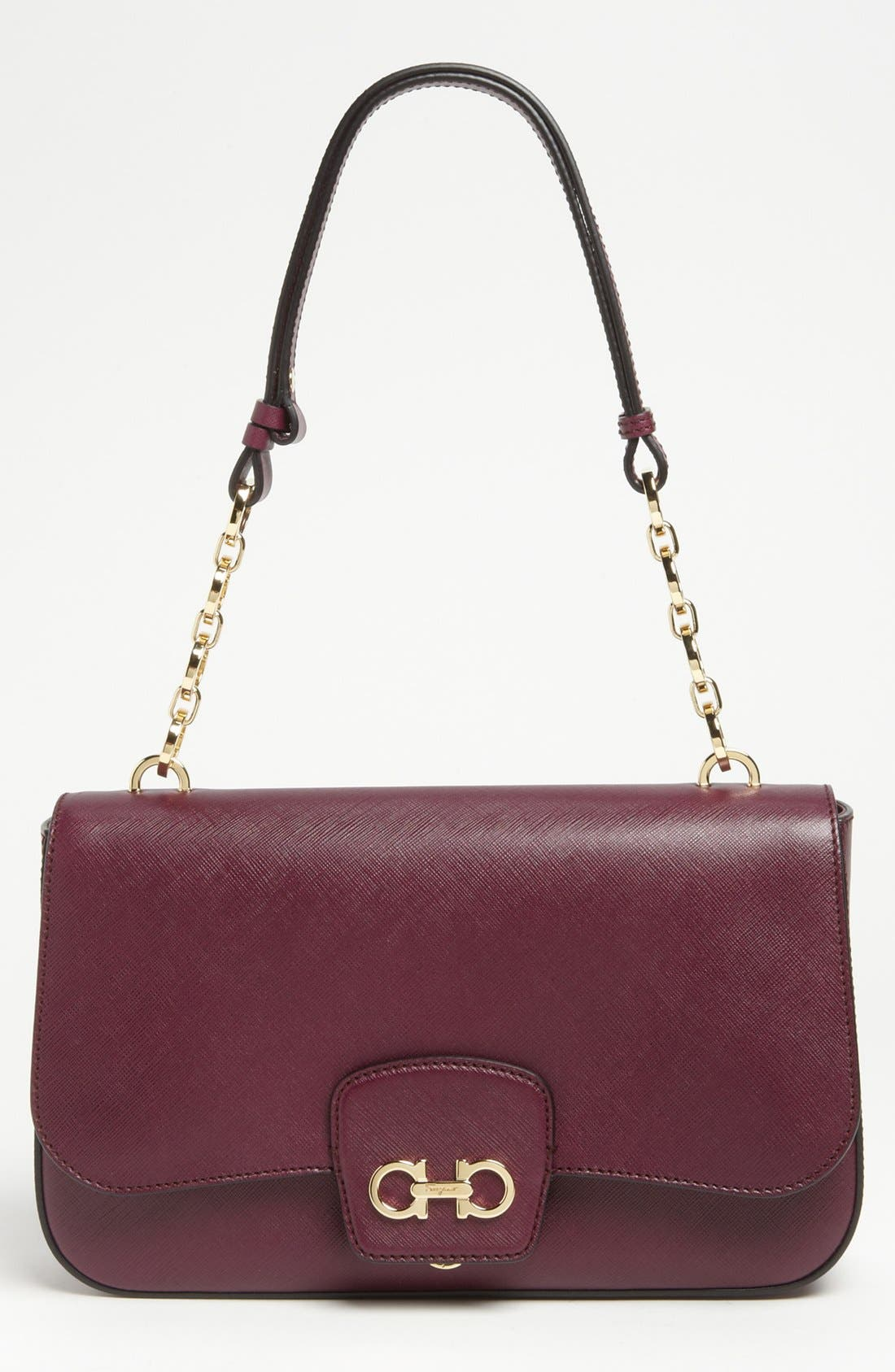 Main Image - Salvatore Ferragamo 'Bree' Leather Shoulder Bag