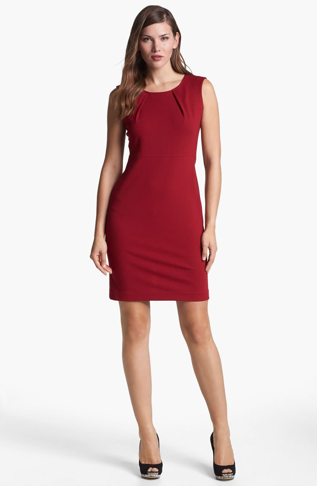 Alternate Image 1 Selected - Lafayette 148 New York Sleeveless Punto Milano Dress