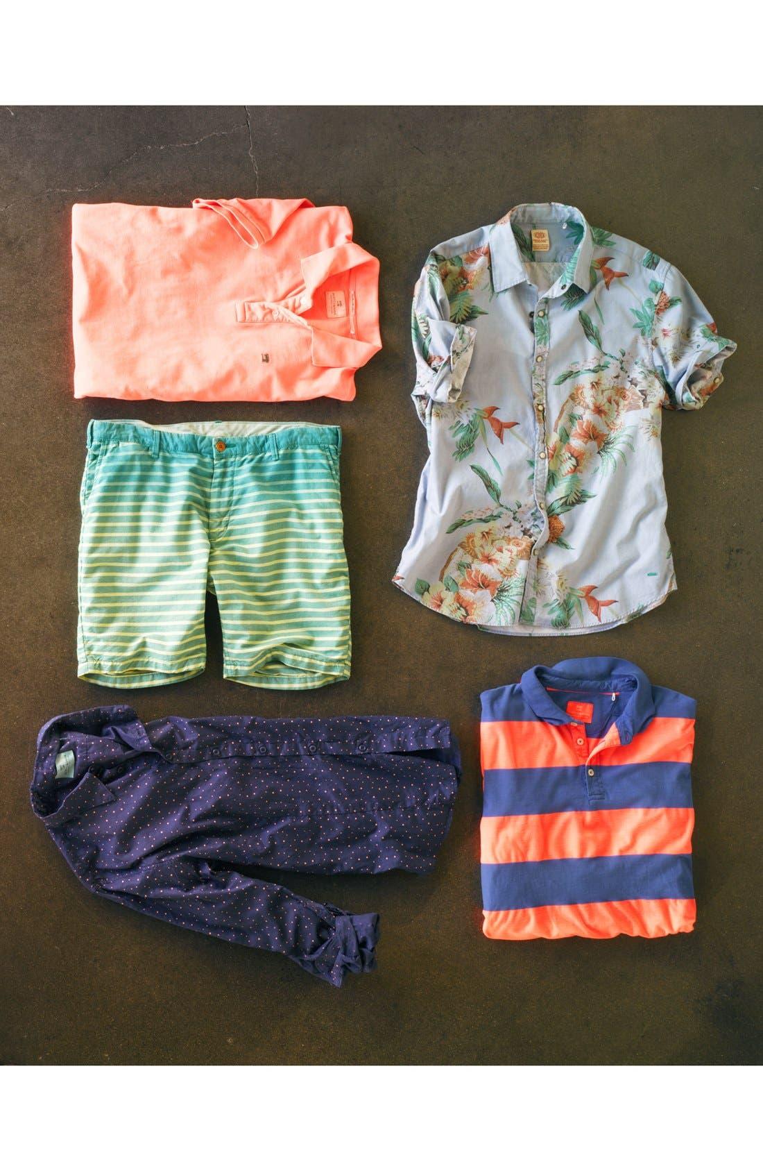 Alternate Image 4  - Scotch & Soda Summer Stripe Shorts