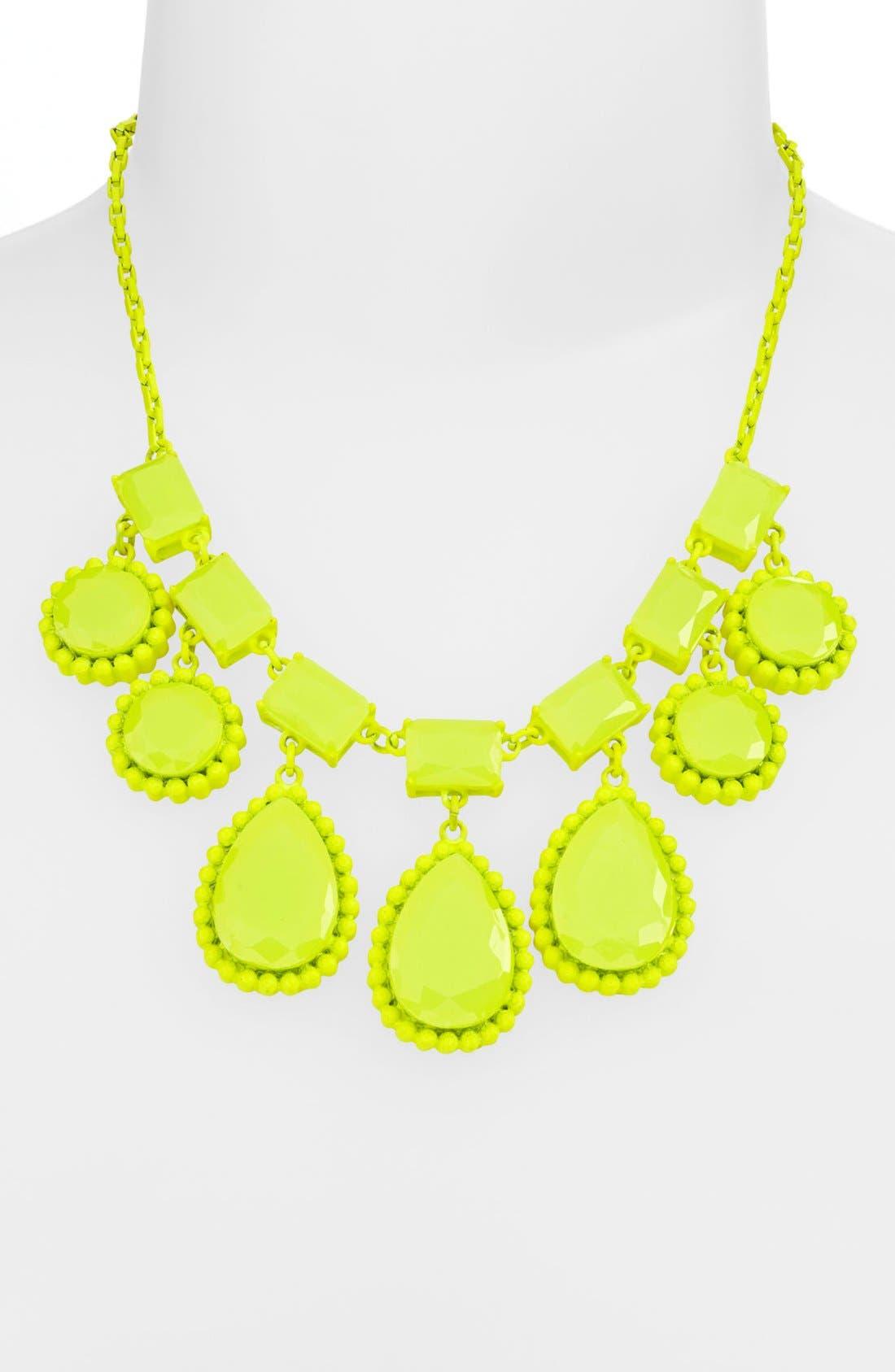 Alternate Image 2  - kate spade new york 'painted jewels' bib statement necklace