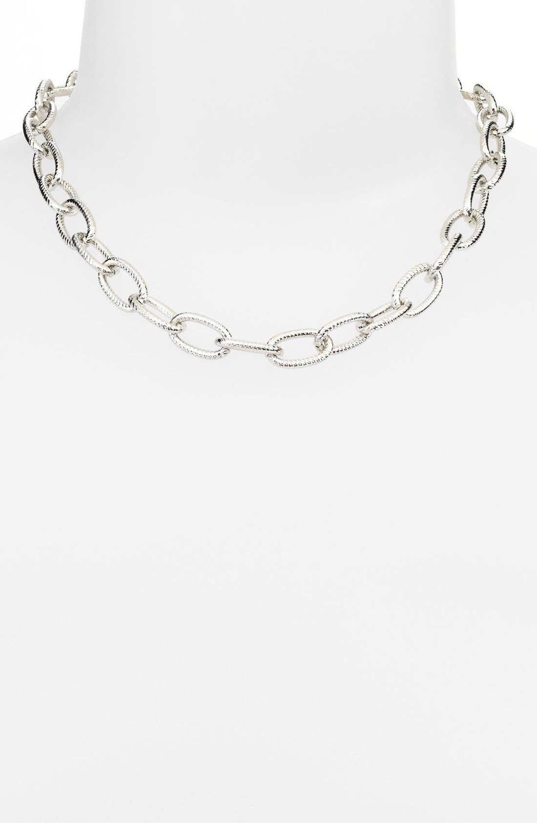 Alternate Image 1 Selected - Nordstrom Link Collar Necklace