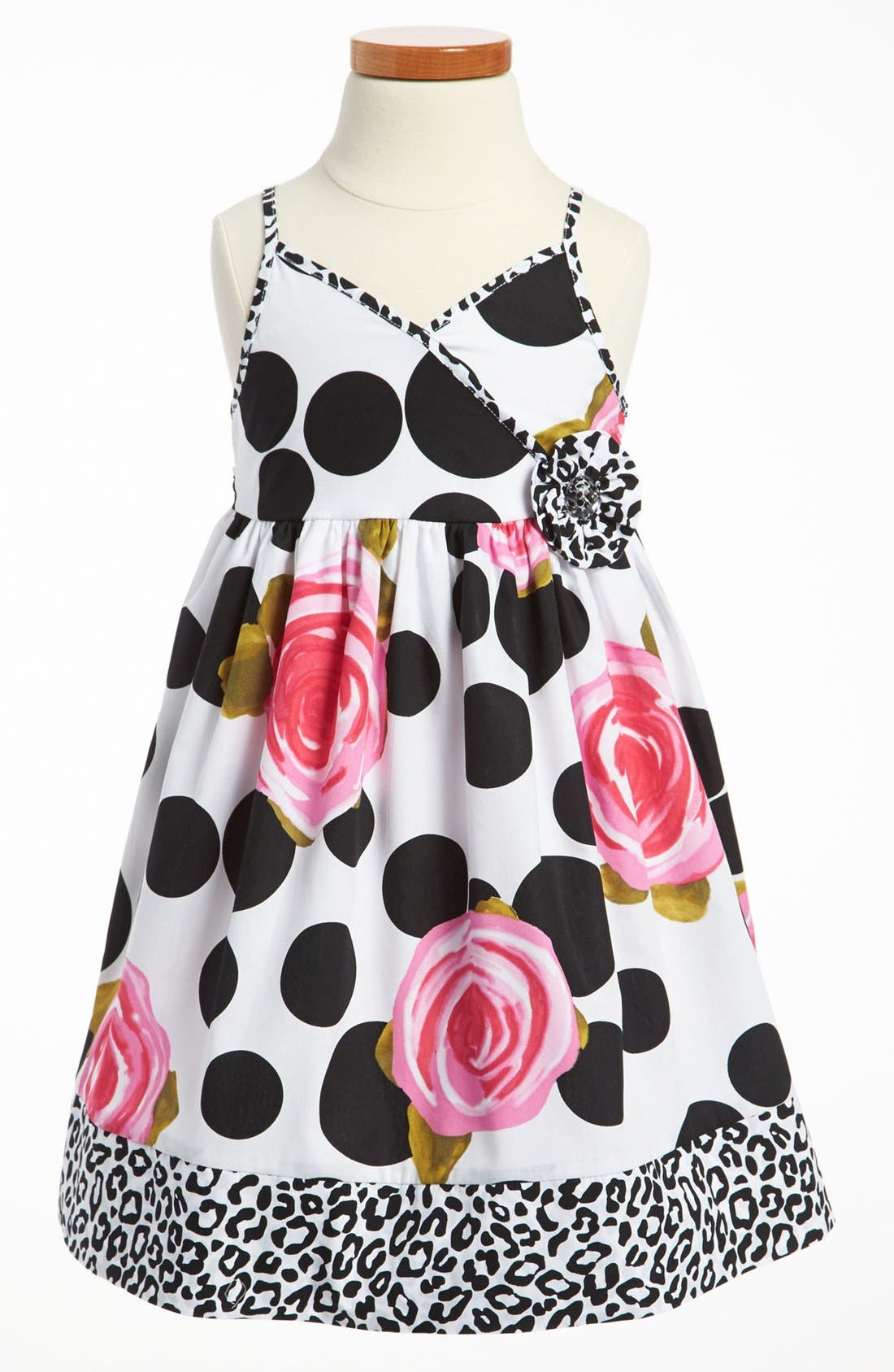 Main Image - Marmelatta Print Dress (Toddler)