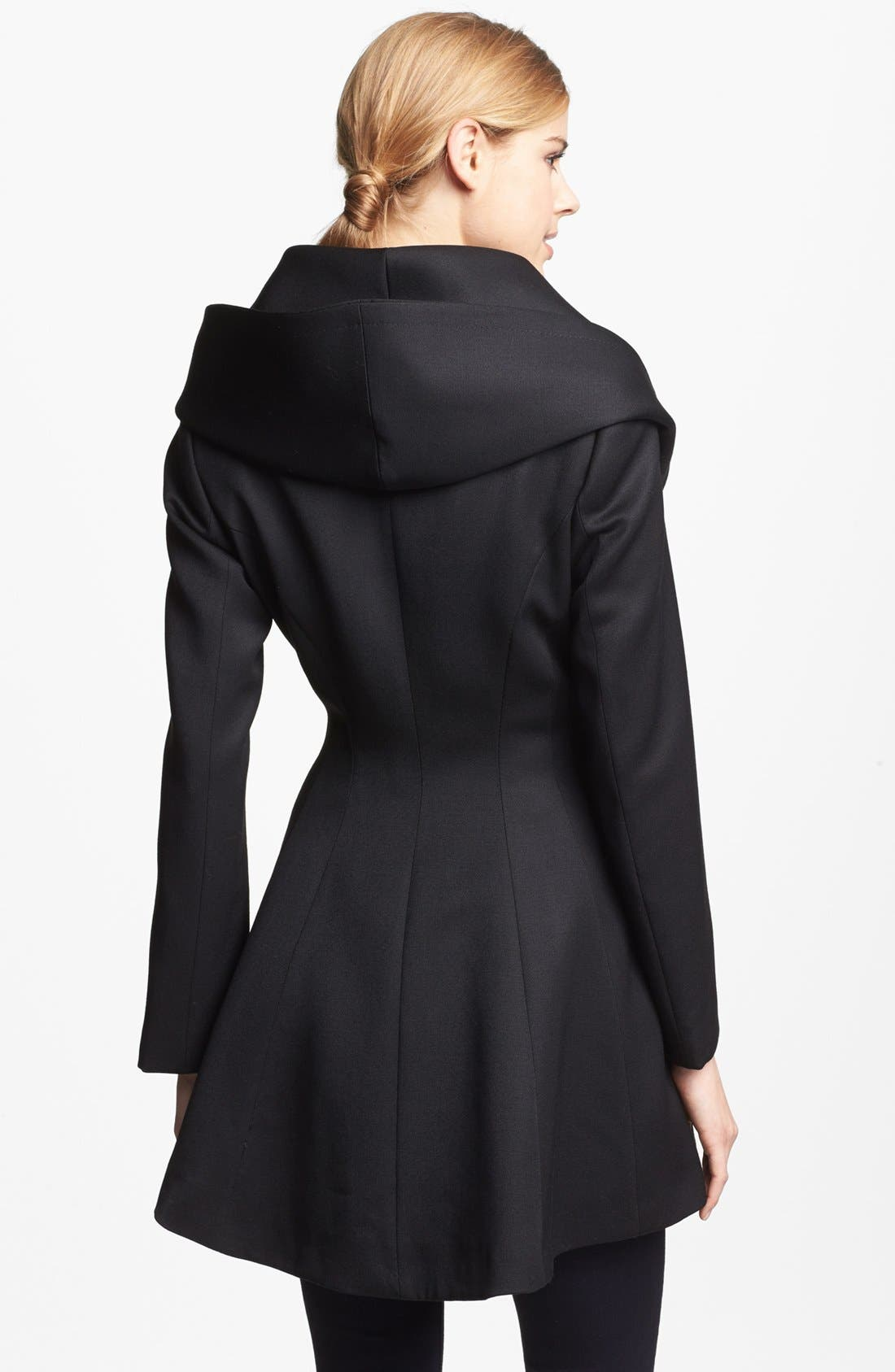Alternate Image 3  - Trina Turk 'Ali' Gabardine Wrap Coat