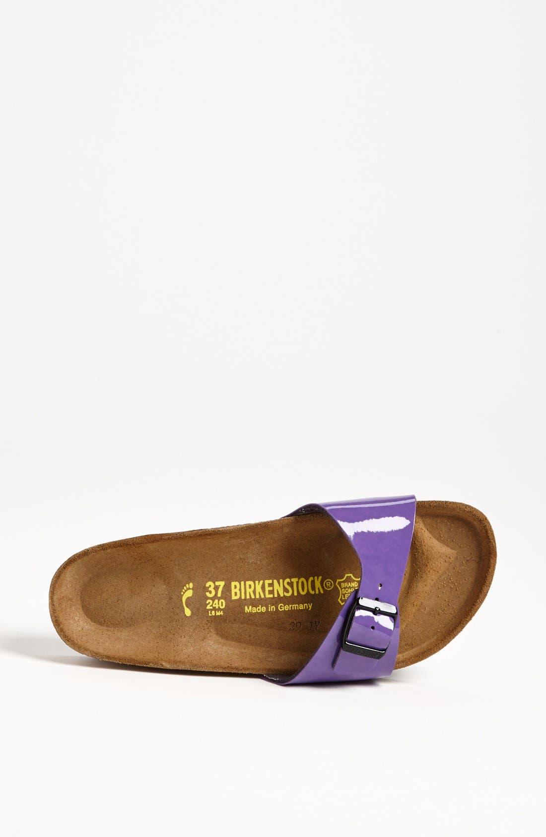 Alternate Image 3  - Birkenstock 'Madrid' Birko-Flor™ Sandal (Women)
