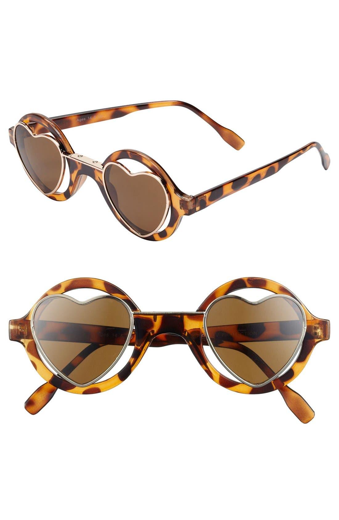 Alternate Image 1 Selected - FE NY 'Inner Sanctum' Sunglasses