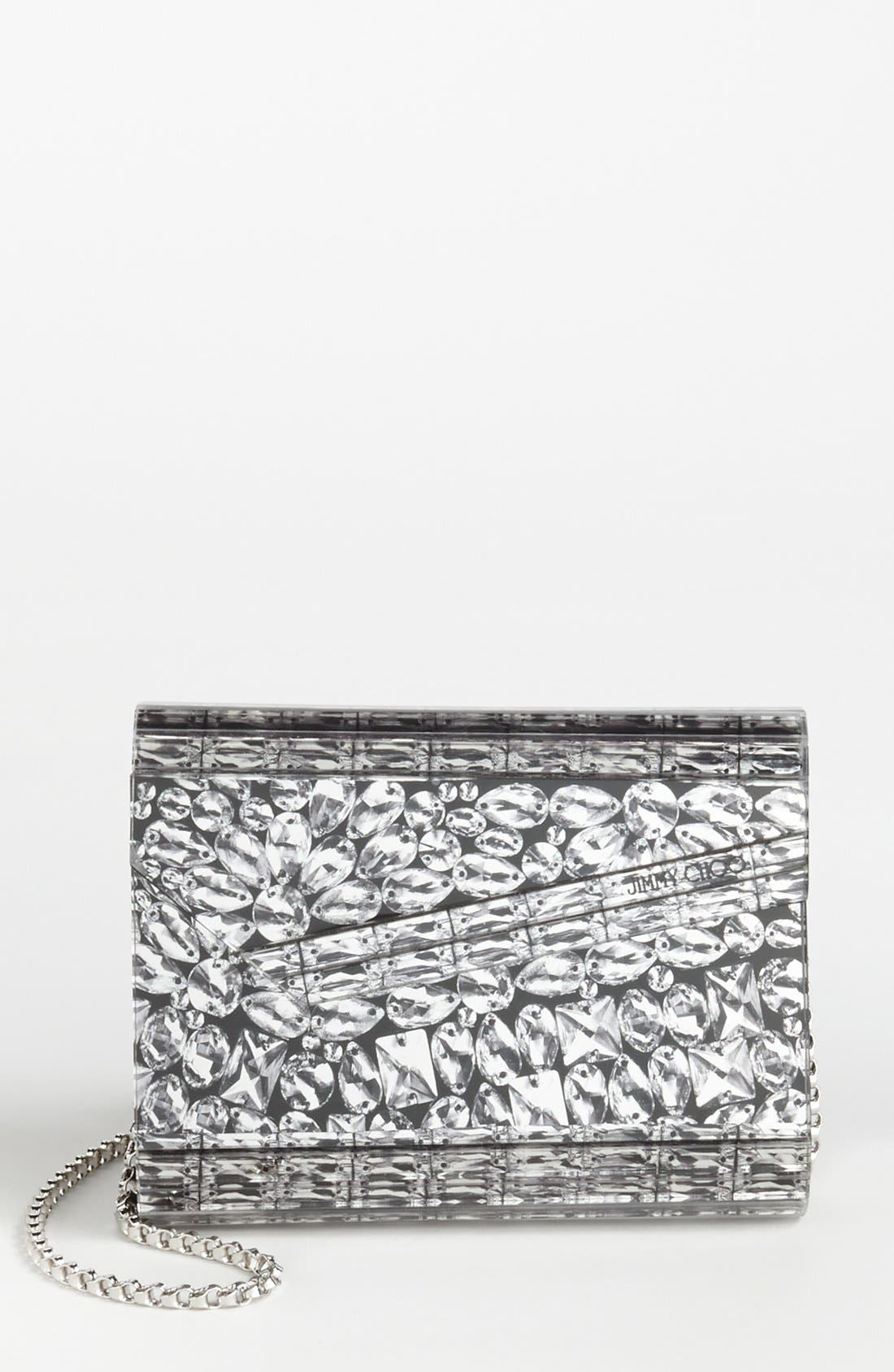 Alternate Image 1 Selected - Jimmy Choo 'Candy' Clutch, Small