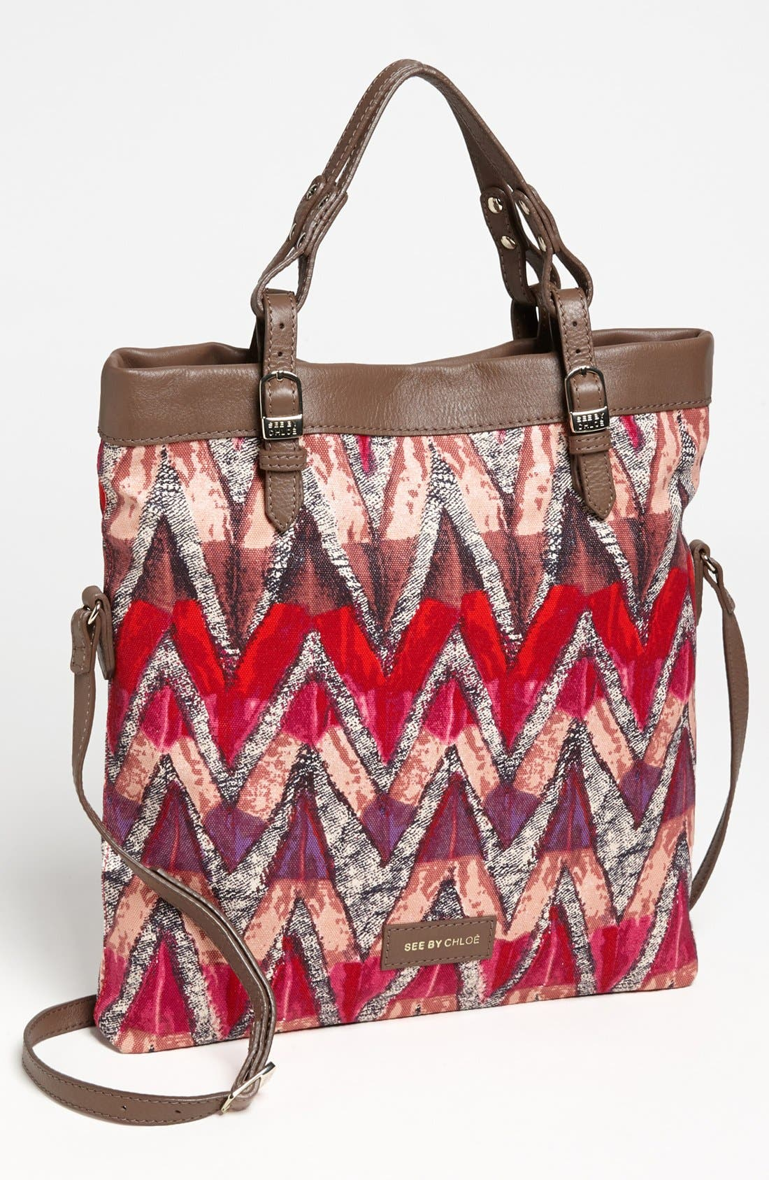 Main Image - See by Chloé 'Agathe' Double Function Tote, Medium