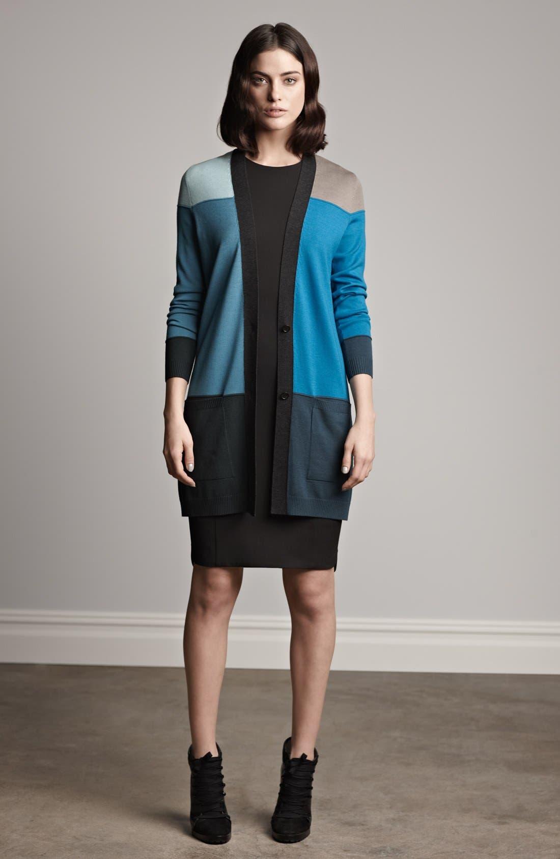 Alternate Image 7  - Akris punto Intarsia Knit Wool Cardigan