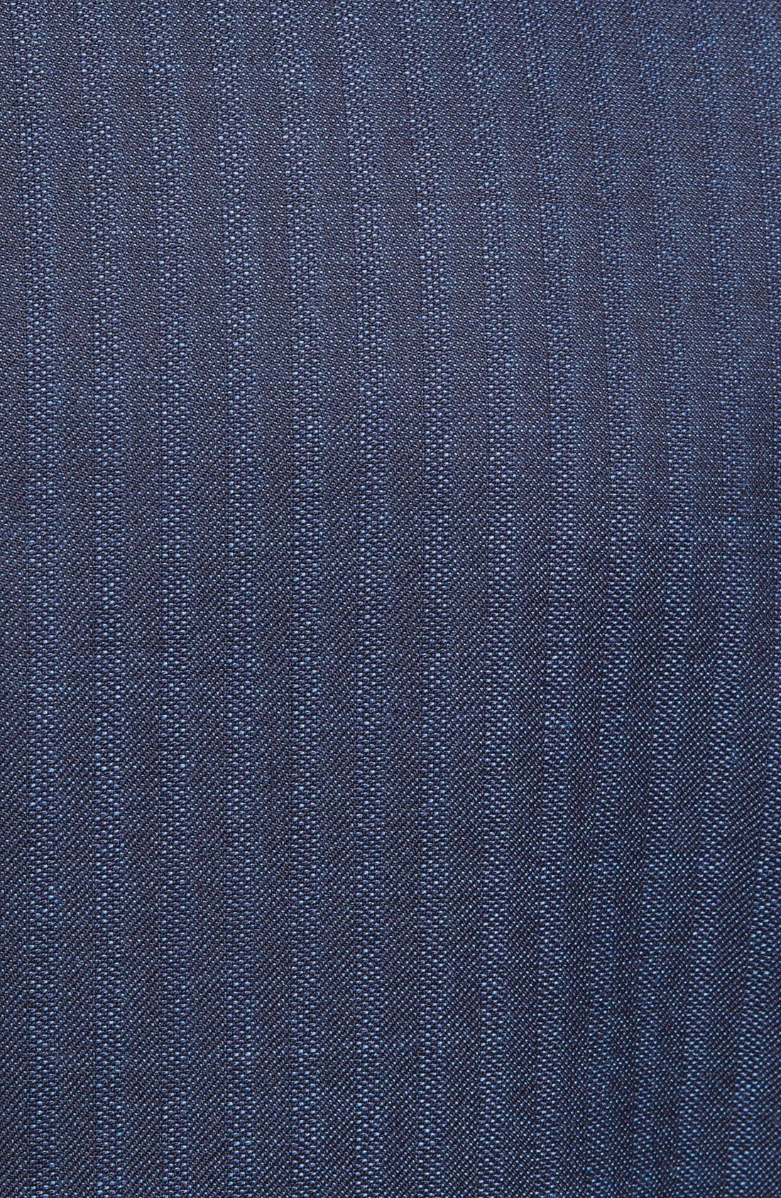 Alternate Image 2  - Paul Smith London Slim Fit Stripe Wool Suit
