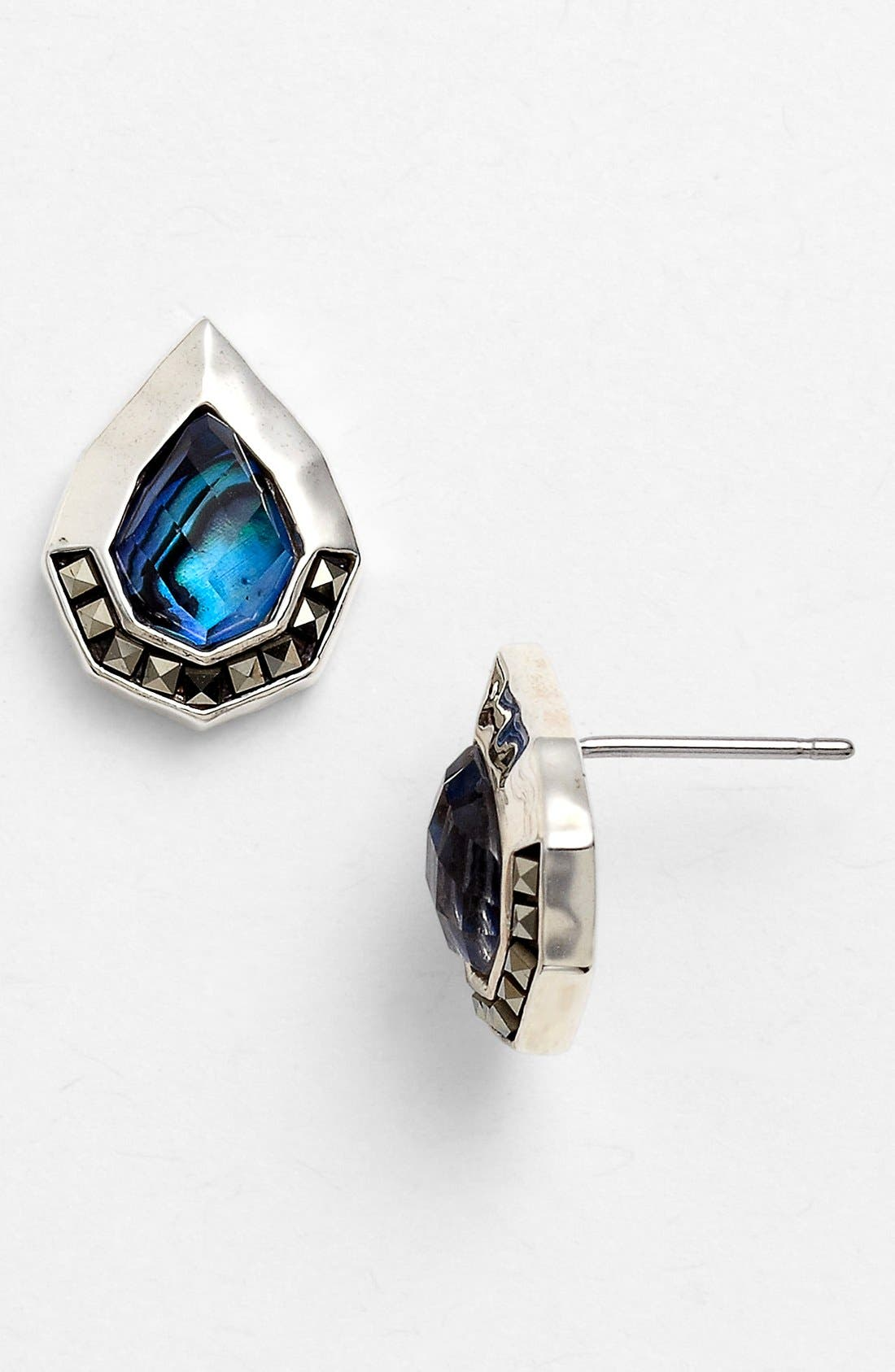 Alternate Image 1 Selected - Judith Jack 'Waterfall' Stud Earrings