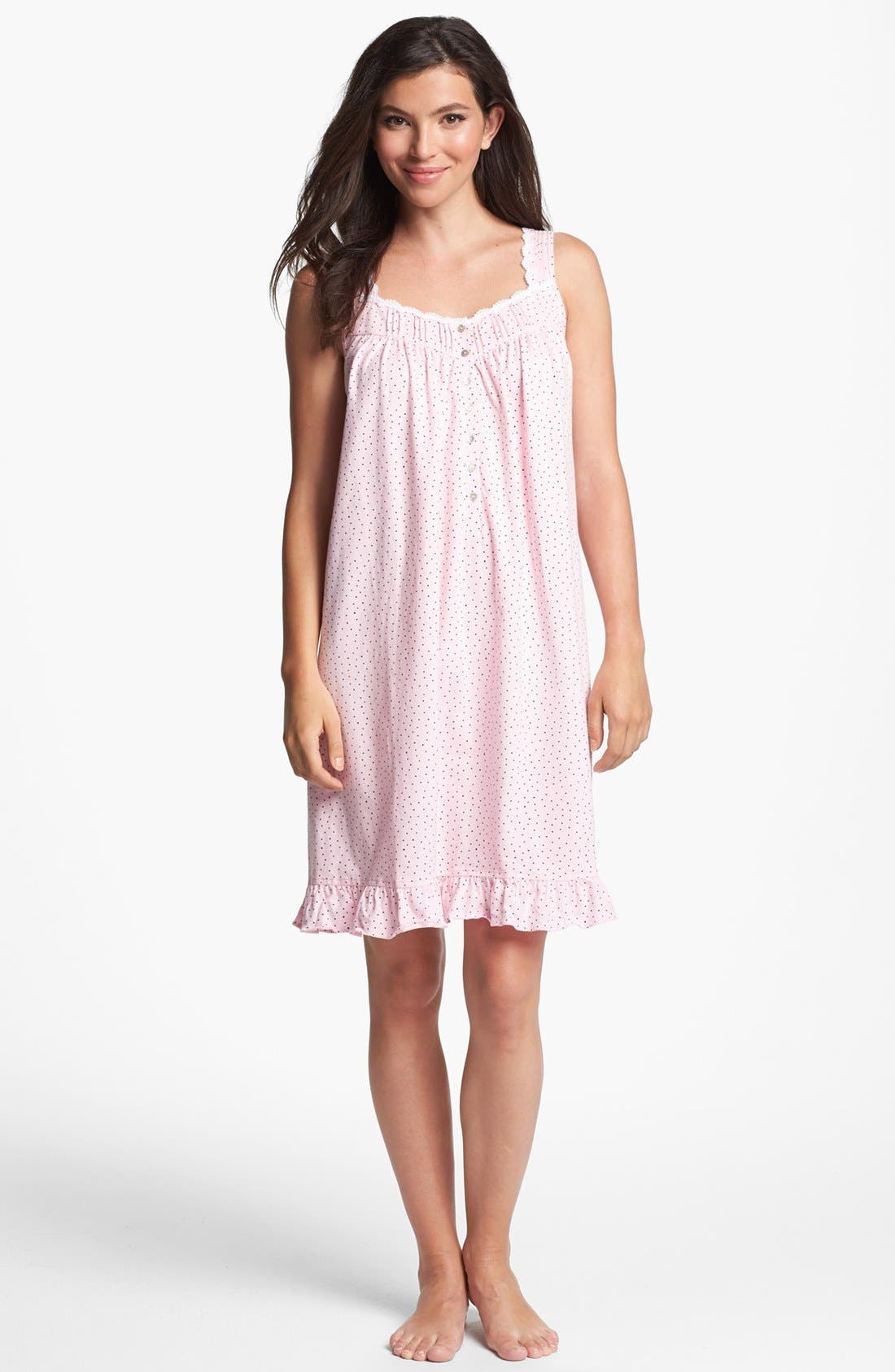 Main Image - Eileen West 'Evening Reverie' Short Nightgown