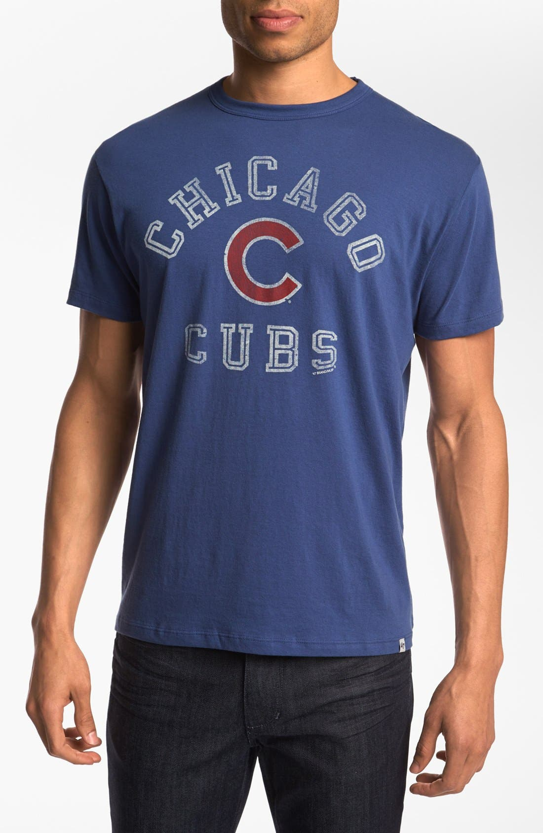 Alternate Image 1 Selected - 47 Brand 'Chicago Cubs - Flanker' T-Shirt