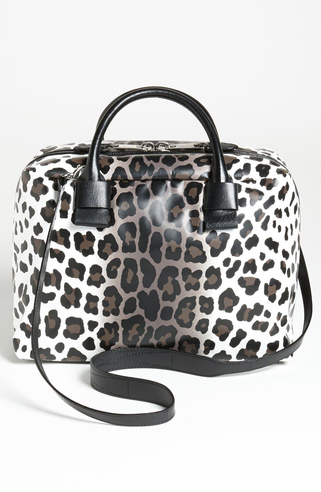 Alternate Image 4  - MARC JACOBS 'Small Antonia - Leopard' Leather Satchel