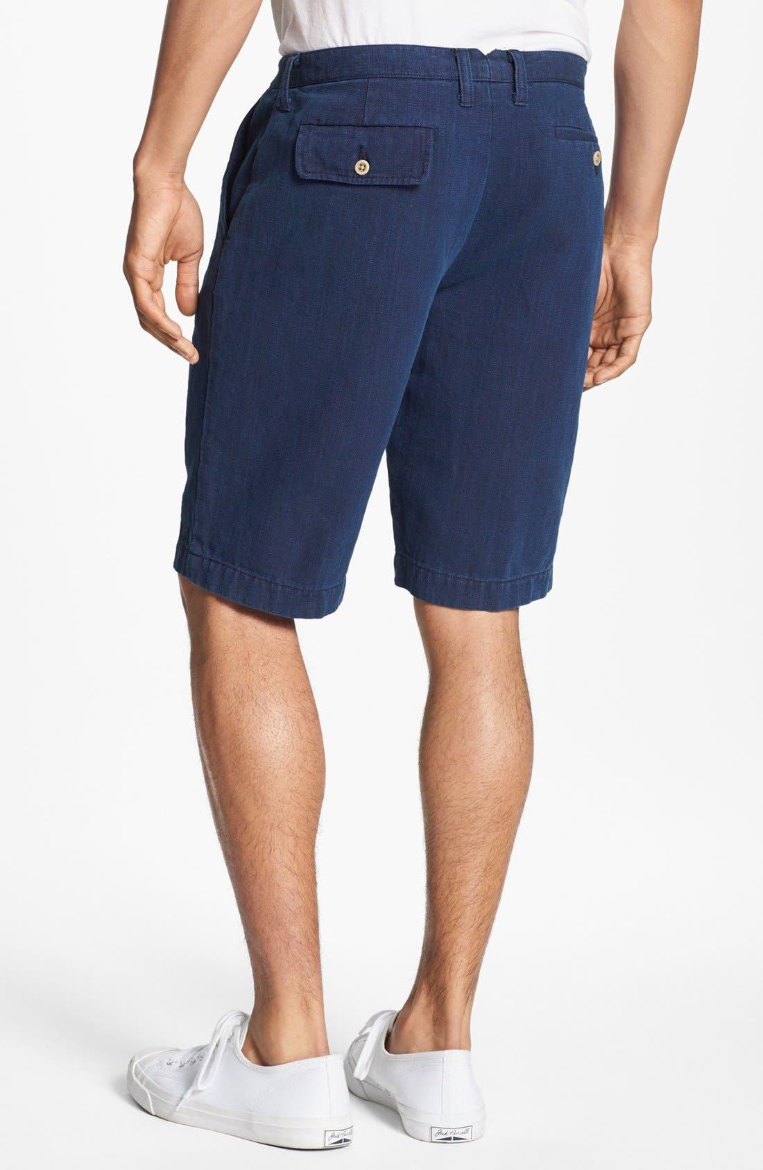 Alternate Image 2  - Just A Cheap Shirt 'Guam' Linen Shorts