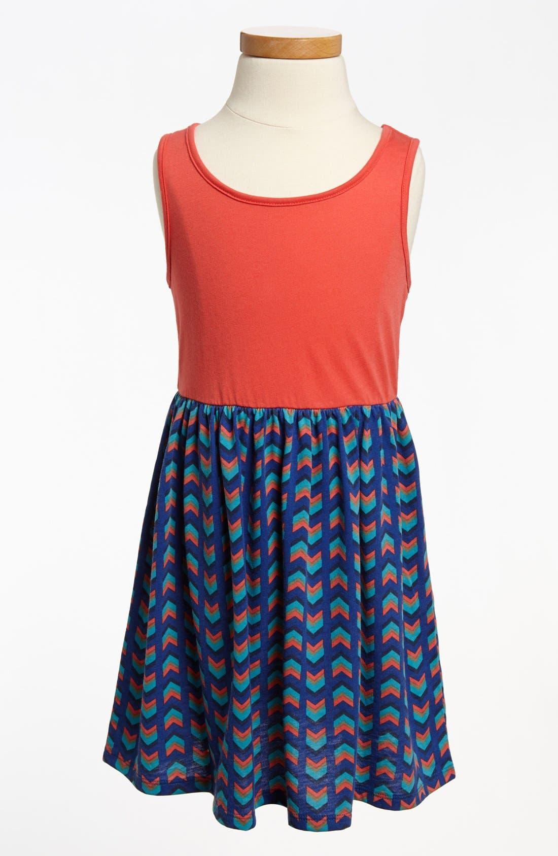 Alternate Image 1 Selected - Tank Dress (Toddler Girls)