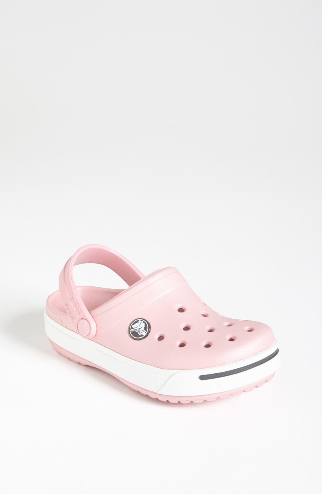Alternate Image 1 Selected - CROCS™ 'Crocband II' Clog (Walker, Toddler & Little Kid)
