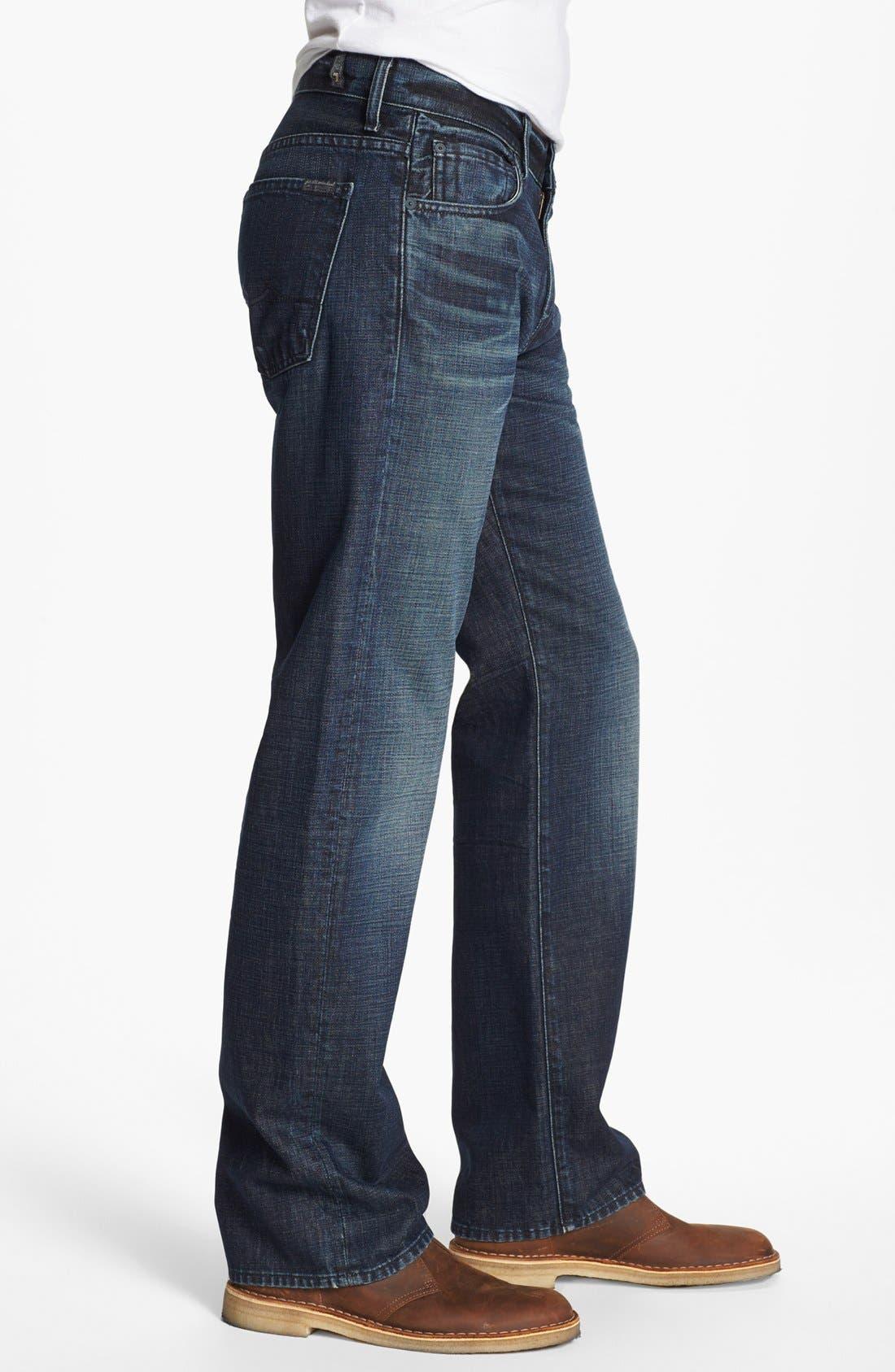 Alternate Image 3  - 7 For All Mankind® 'Austyn' Straight Leg Jeans (Porter Mist)