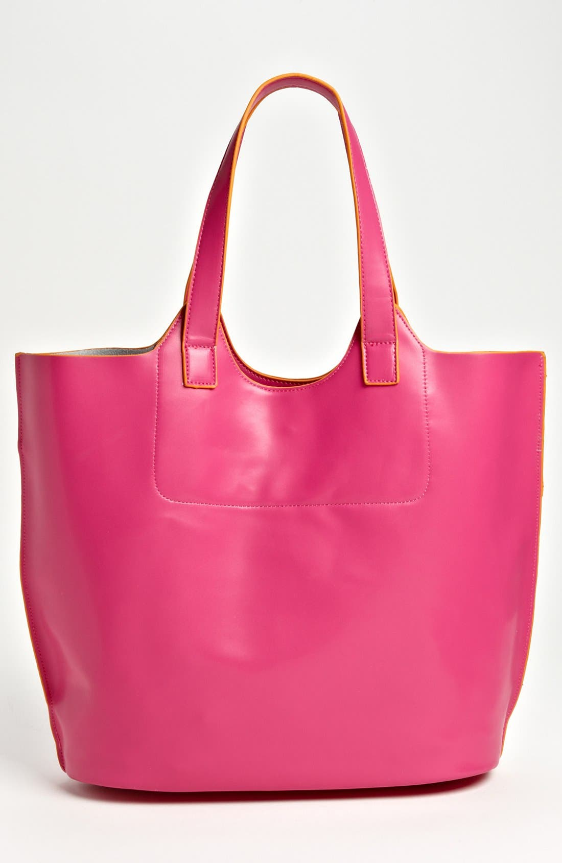 Alternate Image 4  - POVERTY FLATS by rian 'Colorful' Faux Leather Tote