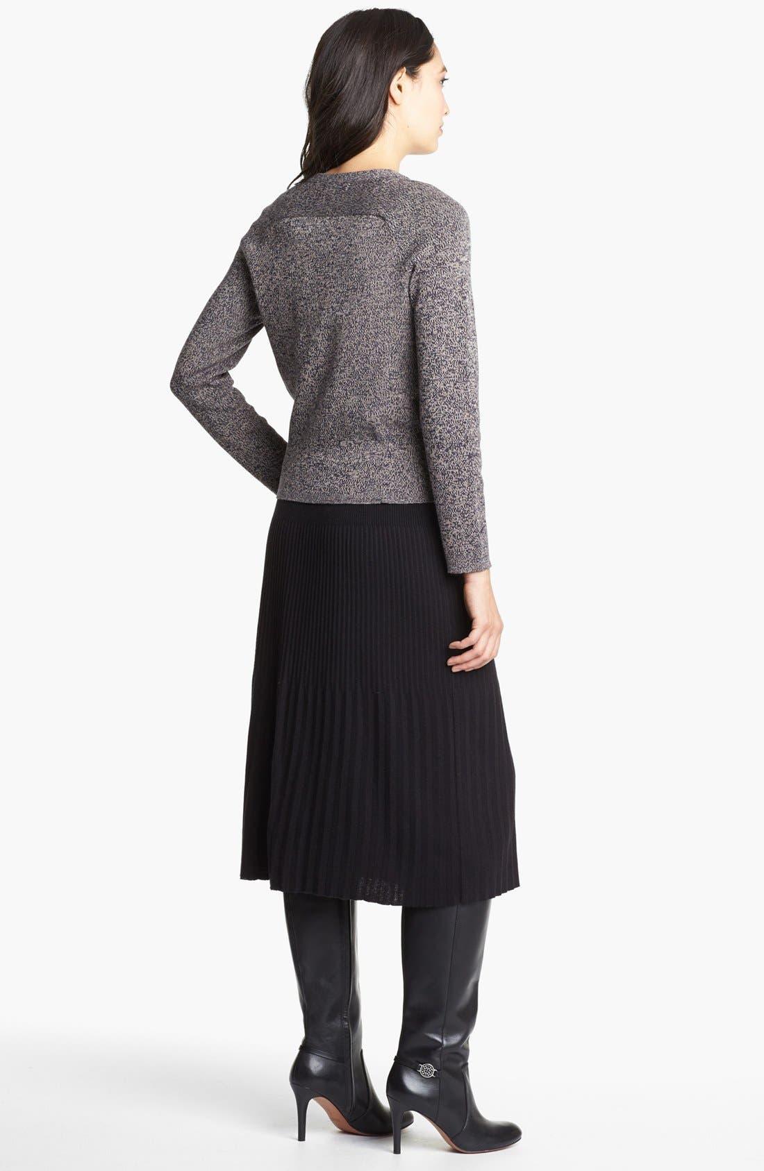 Alternate Image 4  - Nic + Zoe Pleated Knit Skirt