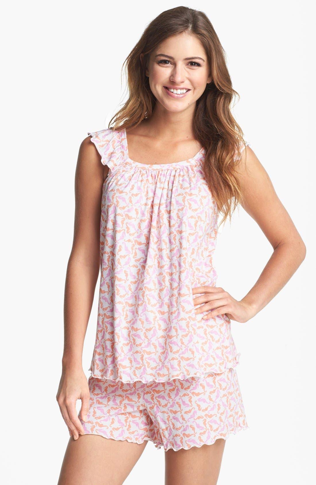 Main Image - Carole Hochman Designs 'Summer' Short Pajamas