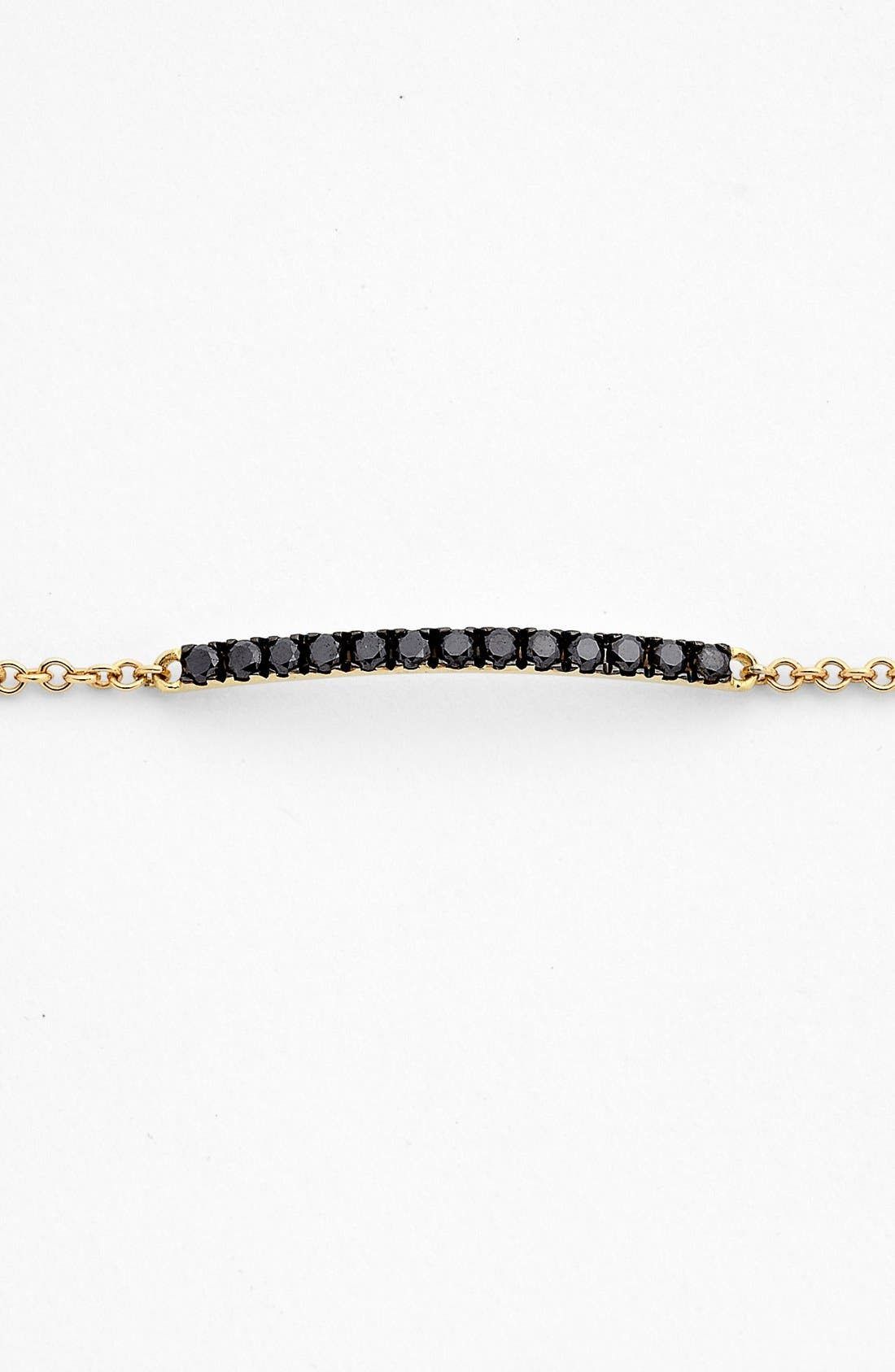 Alternate Image 2  - Bony Levy 'Stick' Pavé Diamond Bar Bracelet (Nordstrom Exclusive)