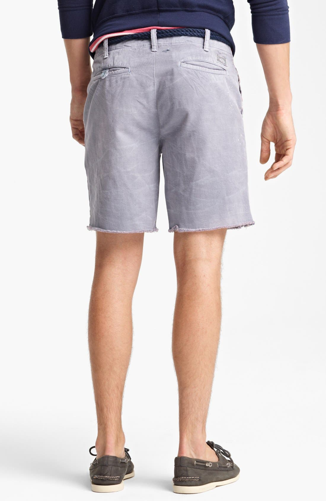 Alternate Image 2  - Polo Ralph Lauren Cut Off Chino Shorts