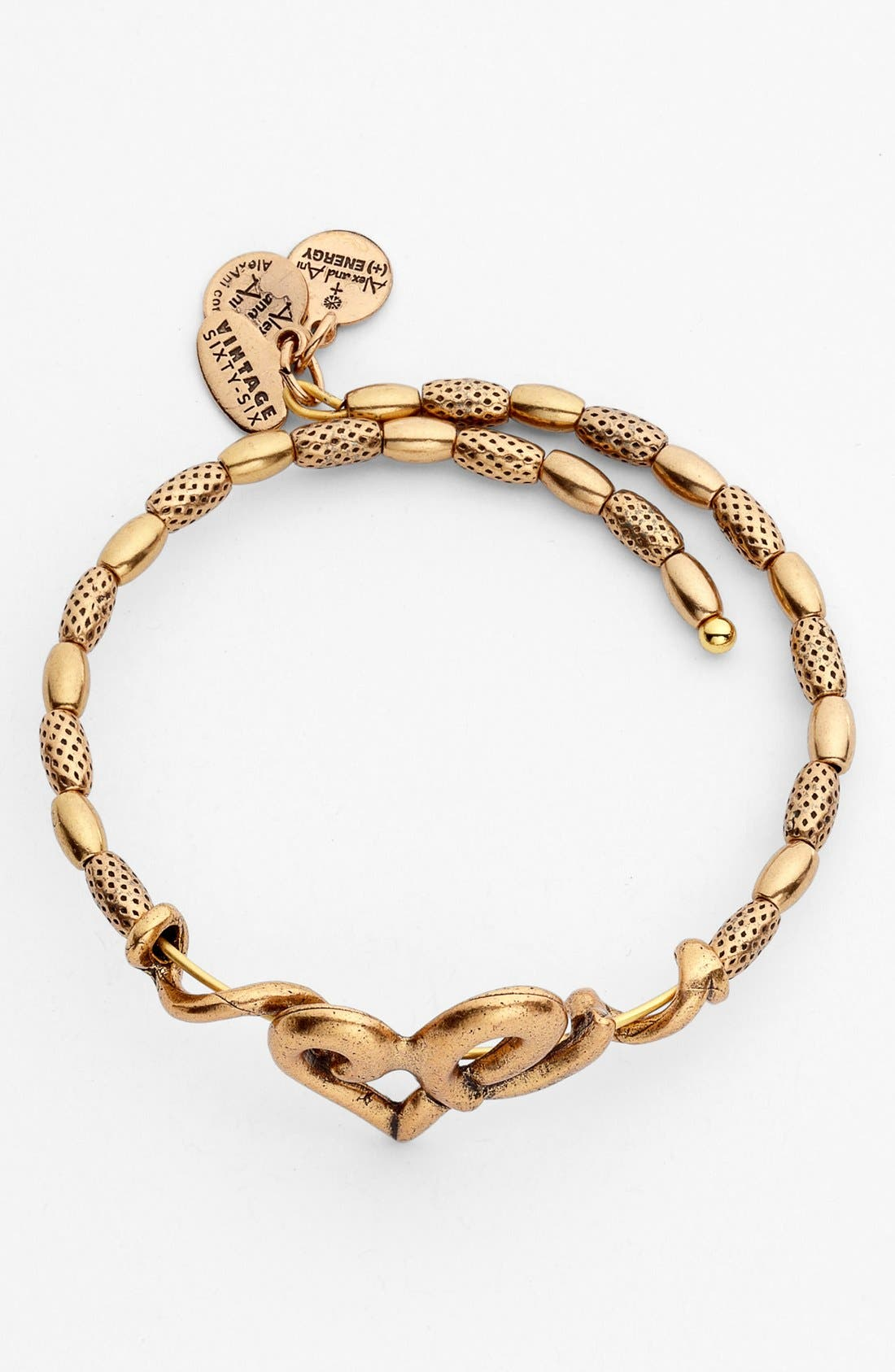 Alternate Image 2  - Alex and Ani 'Heart Wrap' Expandable Bangle