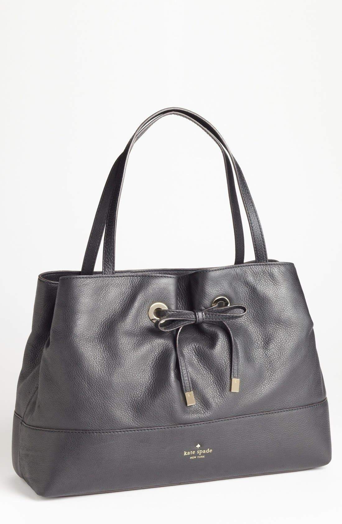 Alternate Image 1 Selected - kate spade new york 'west valley - maryanne' leather shopper