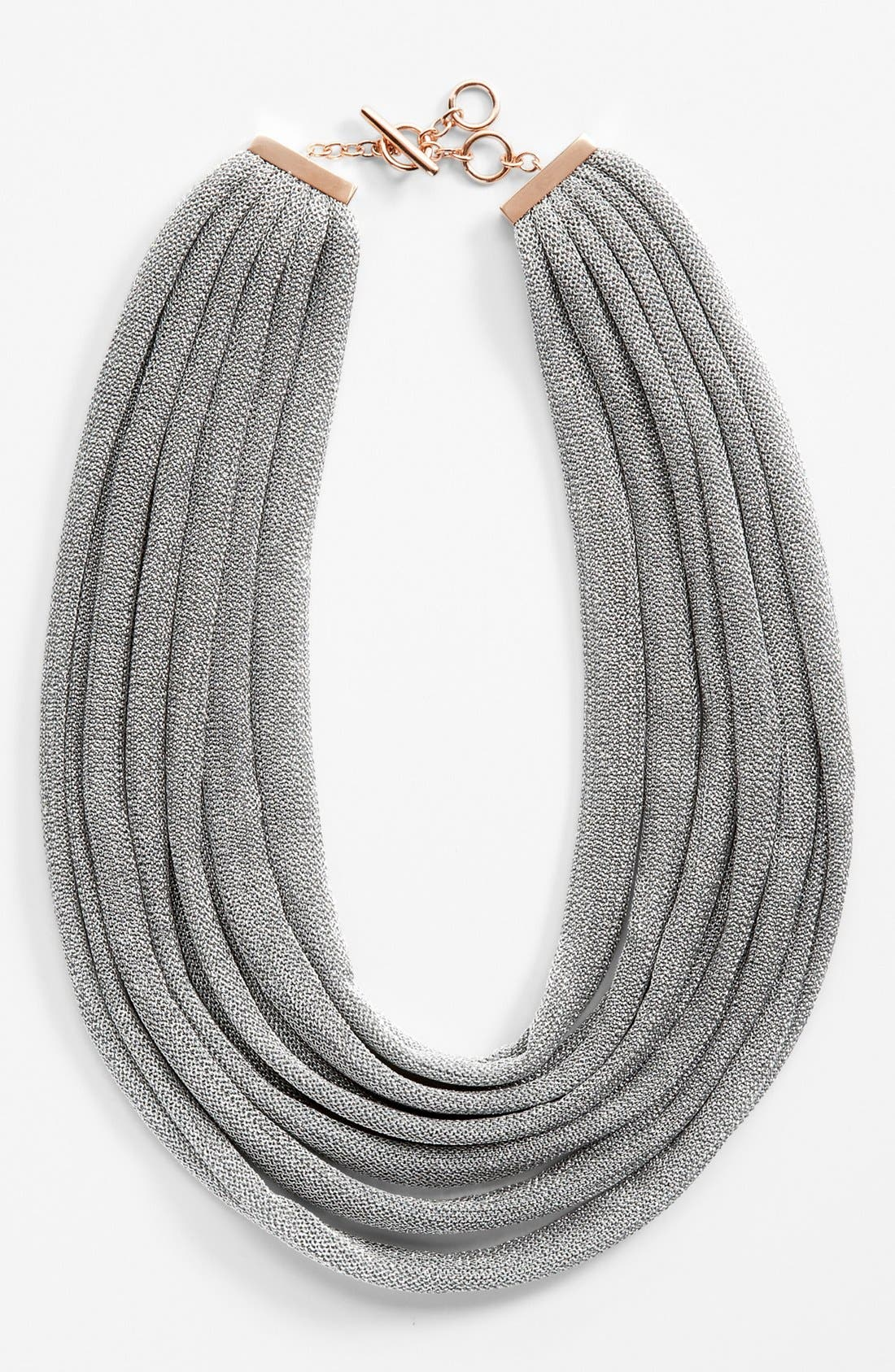 Alternate Image 2  - Adami & Martucci 'Mesh' Multistrand Bib Necklace