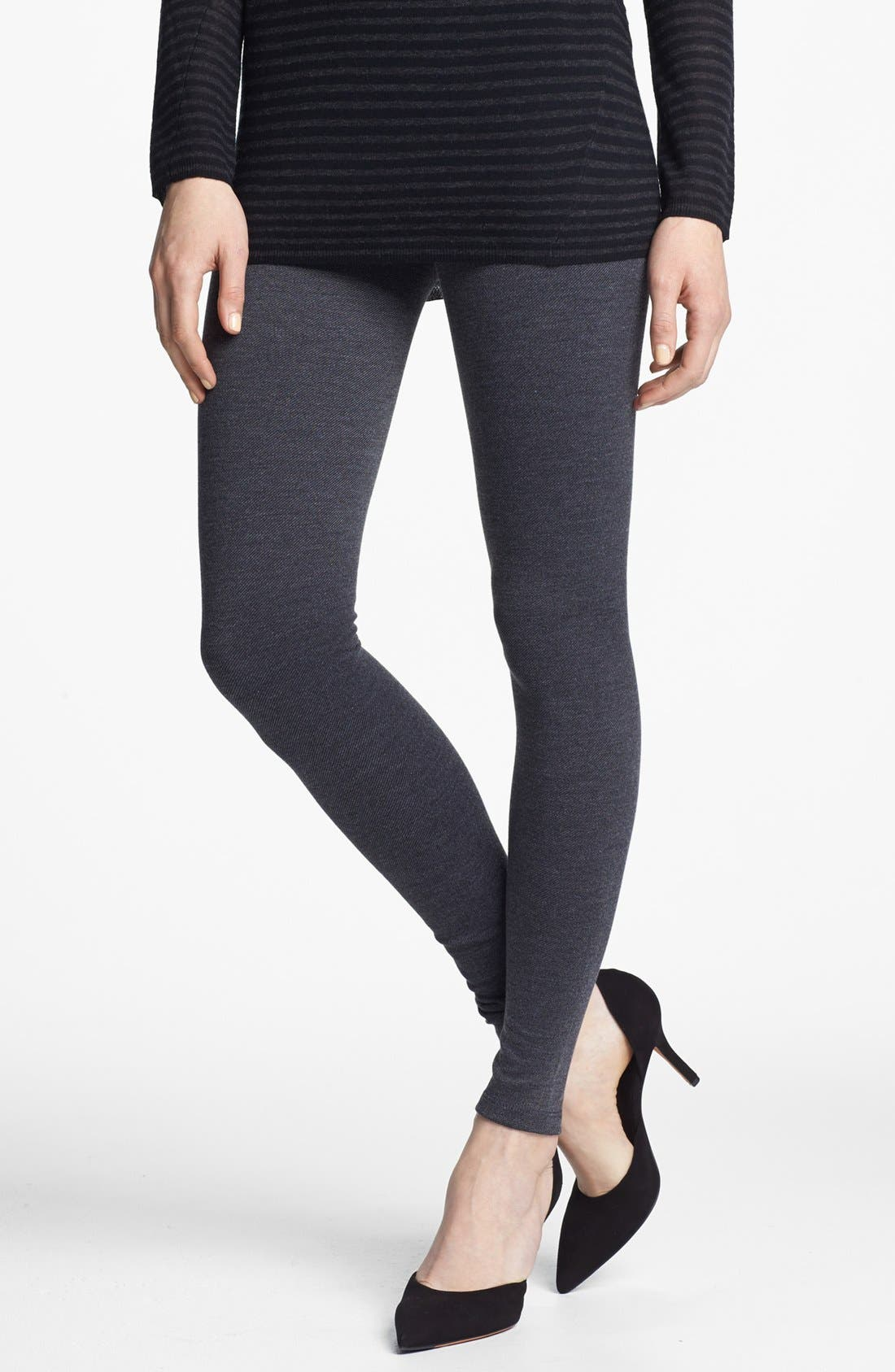 Alternate Image 1 Selected - Vince Twill Leggings