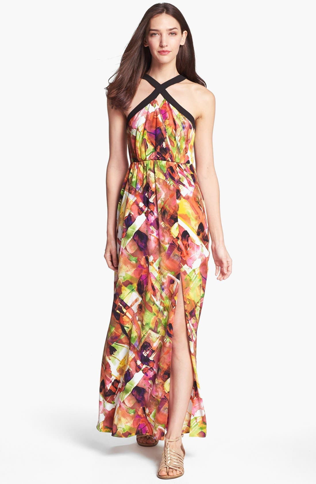 Alternate Image 1 Selected - Marc New York by Andrew Marc Print Maxi Dress
