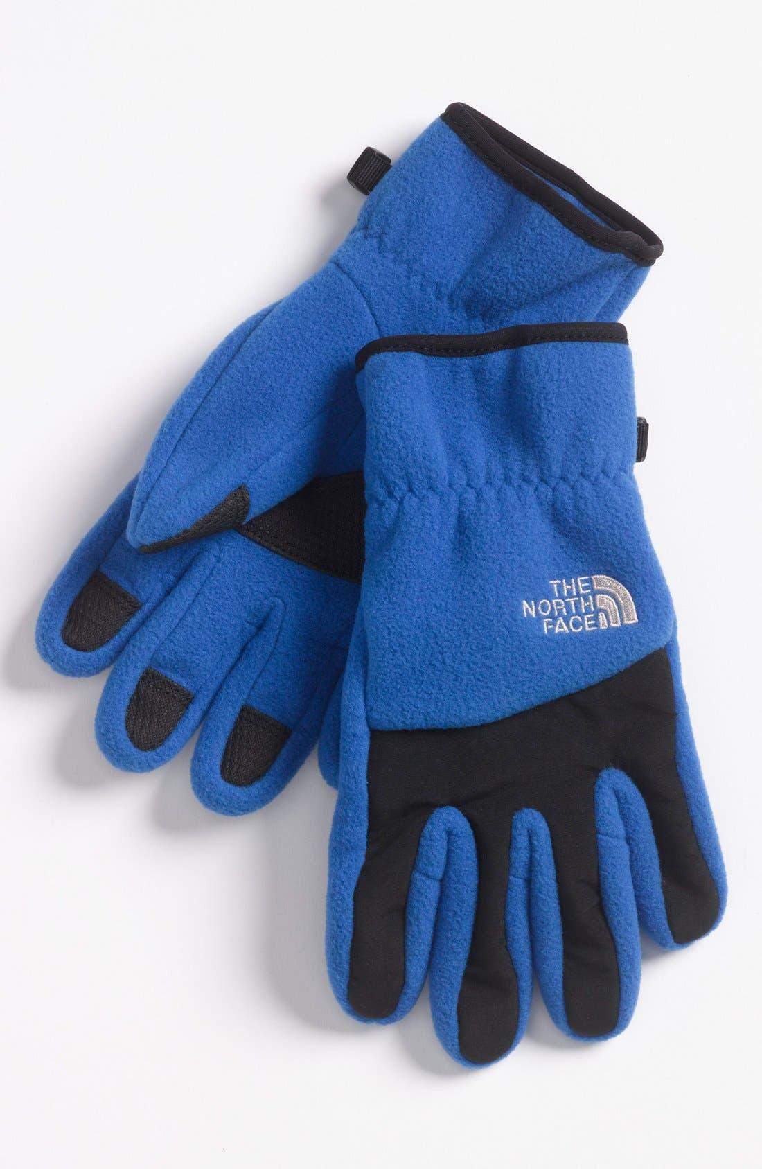 Main Image - The North Face 'Denali' Gloves (Boys)