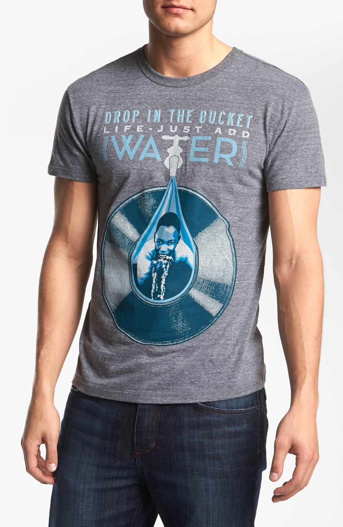 Alternate Image 1 Selected - Obey 'Drop in the Bucket' T-Shirt