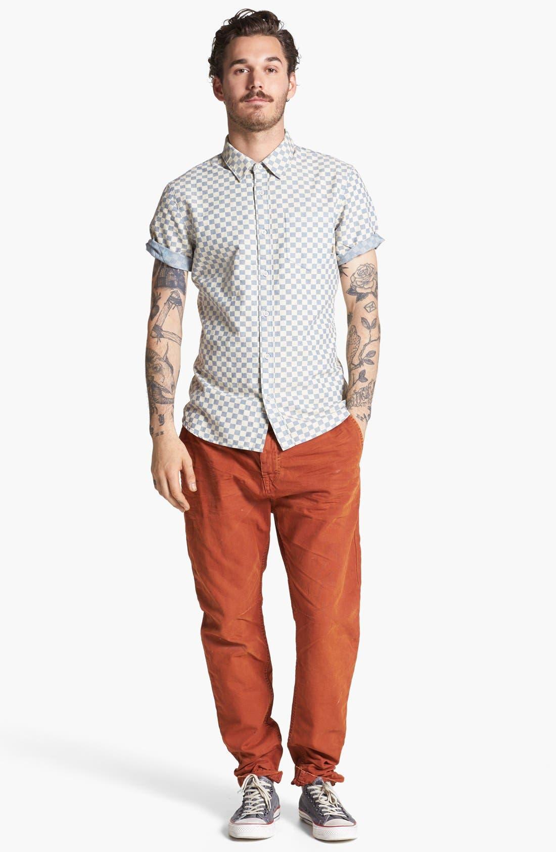 Main Image - Vans Shirt & Scotch & Soda Slim Tapered Leg Chinos