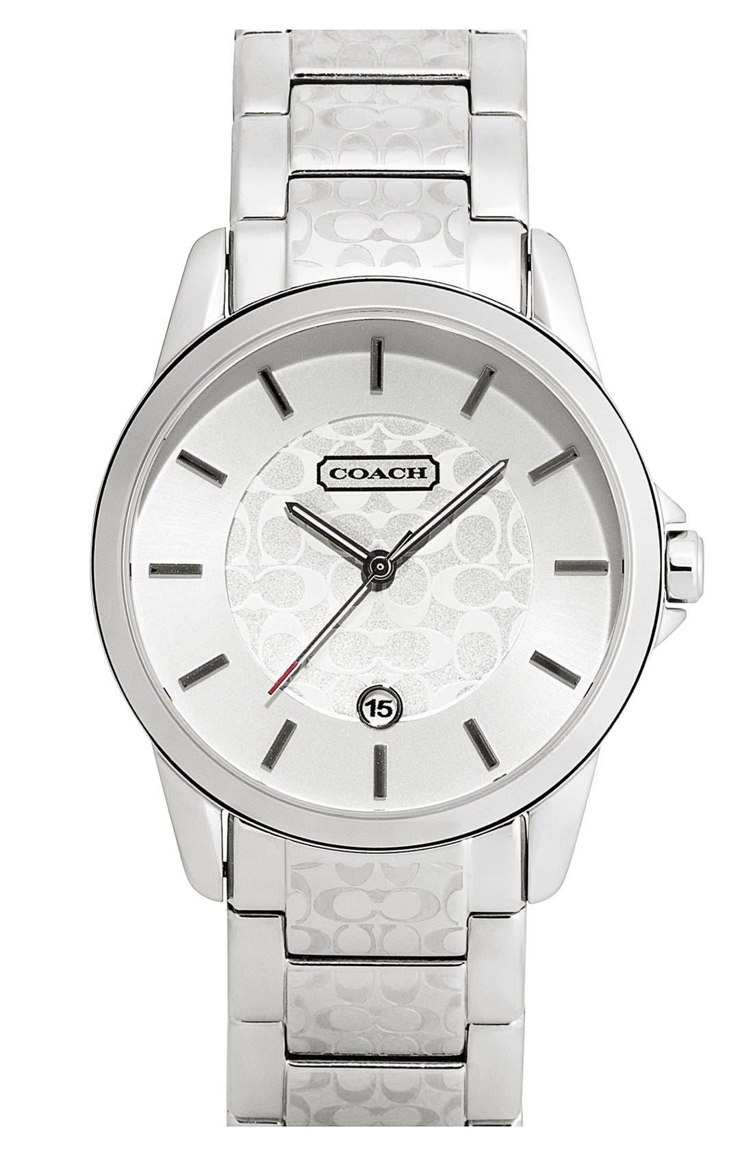 Main Image - COACH 'Classic Signature' Bracelet Watch