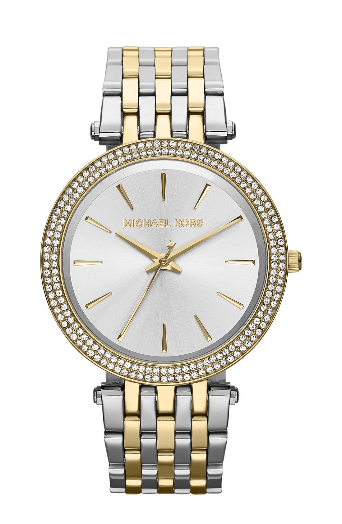 Main Image - Michael Kors 'Darci' Round Bracelet Watch, 39mm