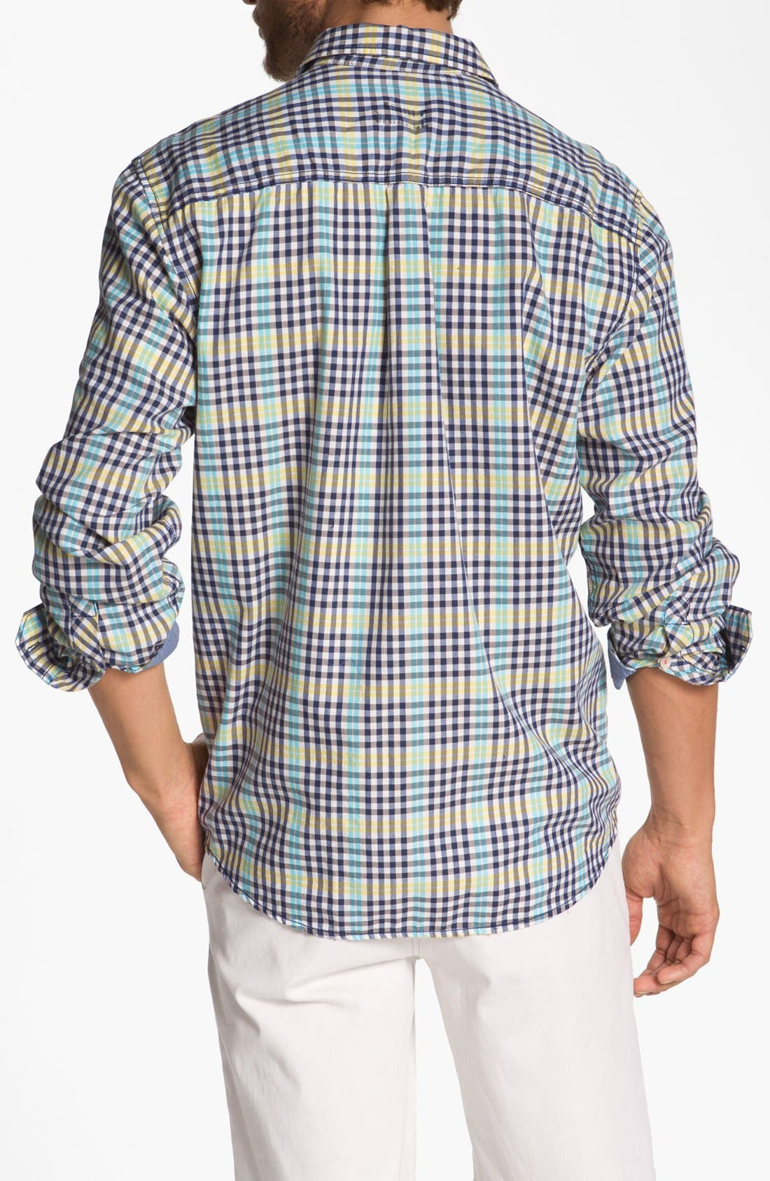 Alternate Image 2  - Tommy Bahama Denim 'Ole Oxford' Regular Fit Sport Shirt