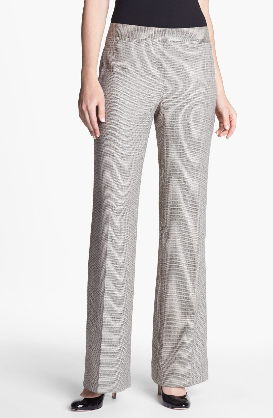 Alternate Image 1 Selected - Classiques Entier® 'Kenor' Tweed Trousers