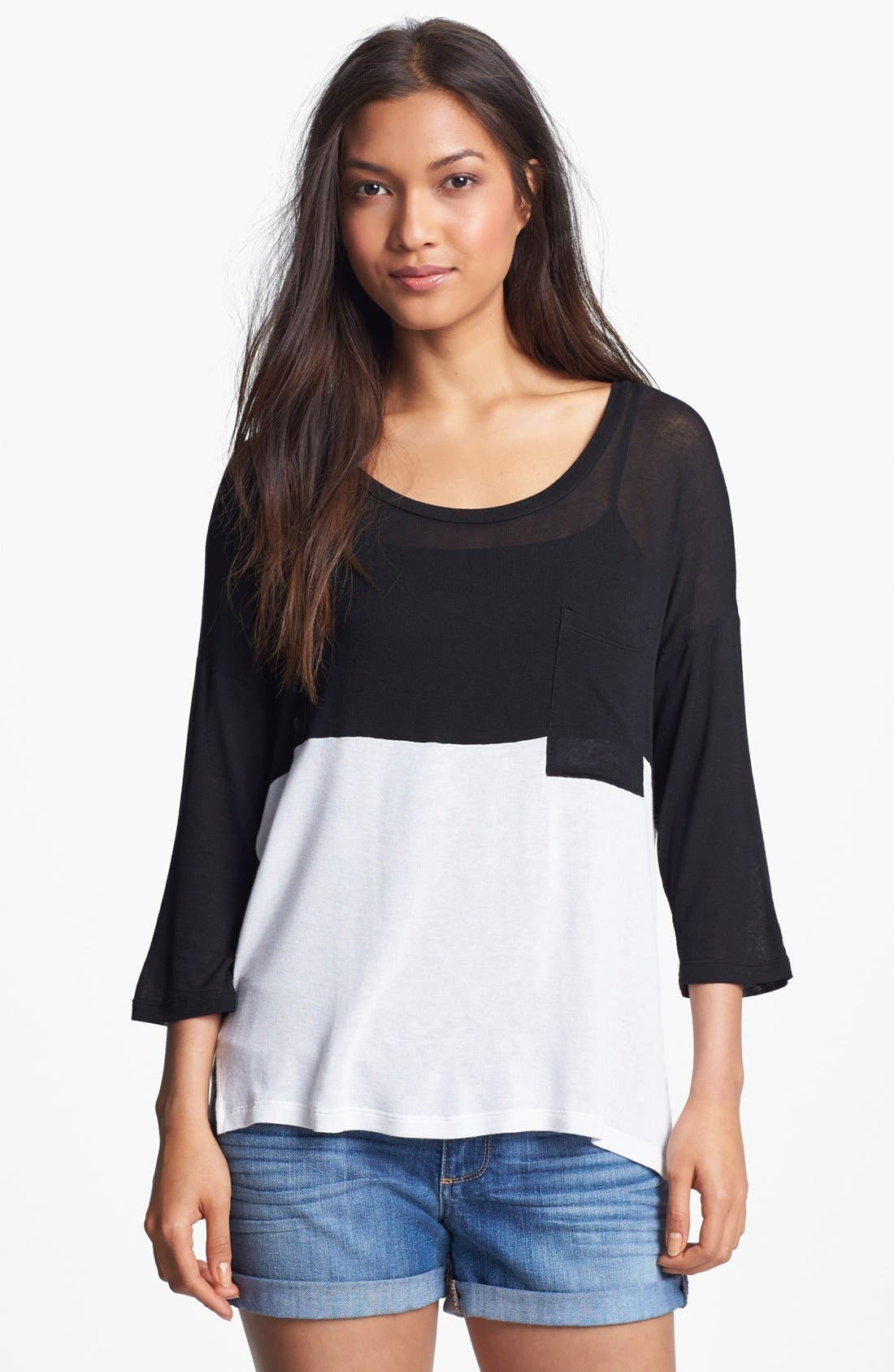 Main Image - Splendid Colorblock Top